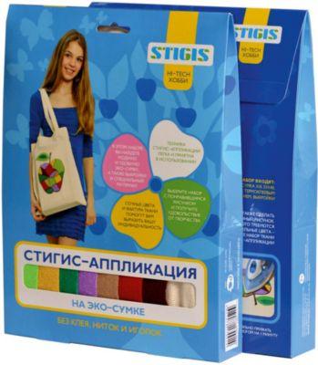 STIGIS Стигис-аппликация на эко-сумке Асино яблоко