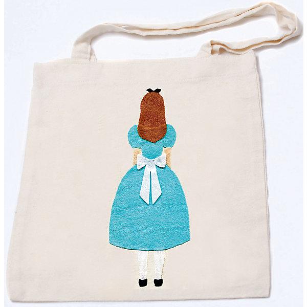 Стигис-аппликация на эко-сумке АлисаАппликации из бумаги<br>Алиса - набор для детского творчества. С его помощью девочка сможет сделать очаровательную и практичную эко-сумку своими руками. Для создания сумки нужно отрезать кусочки уникальной ткани stigis,  входящей в комплект, выложить их на сумочку и прогладить утюгом. В случае ошибки ткань легко снимается при повторном прогреве. Готовая удобная сумка - прекрасный повод для гордости!<br><br>Дополнительная информация:<br>Аппликация: Алиса в стране чудес(вид со спины)<br>В комплекте: сумка, ткань с термоклеевым слоем, выкройка, инструкция<br>Размер: 3,5х27х20 см<br>Вес: 200 грамм<br><br>Набор для создания эко-сумки Алиса вы можете приобрести в нашем интернет-магазине.<br>Ширина мм: 200; Глубина мм: 270; Высота мм: 35; Вес г: 200; Возраст от месяцев: 84; Возраст до месяцев: 2147483647; Пол: Унисекс; Возраст: Детский; SKU: 4939418;
