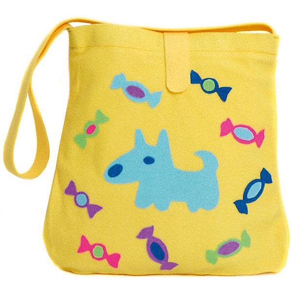 Стигис-аппликация Сумка детская, жёлтаяШитьё<br>Если девочка давно мечтает о красивой сумке с оригинальной аппликацией, то ей обязательно понравится набор для стигис-аппликации на сумке. Ребенок сможет самостоятельно придумать дизайн и воссоздать его на сумочке при помощи ткани с термоклеевым слоем. Достаточно вырезать нужные элементы, выложить их на сумку и прогладить утюгом - красивая и практичная сумочка готова! В случае ошибки ткань можно снова прогладить утюгом, и она отклеится. Такой вид детского творчество хорошо развивает аккуратность, воображение и дизайнерские способности. Отличный подарок для юных рукодельниц!<br><br>Дополнительная информация: <br>В комплекте: сумка, кусочки stigis-ткани, выкройки, инструкция<br>Цвет: желтый<br>Размер: 3,5х27х20 см<br>Вес: 110 грамм<br>Набор для стигис-аппликации можно купить в нашем интернет-магазине.<br>Ширина мм: 200; Глубина мм: 270; Высота мм: 35; Вес г: 110; Возраст от месяцев: 60; Возраст до месяцев: 120; Пол: Унисекс; Возраст: Детский; SKU: 4939425;