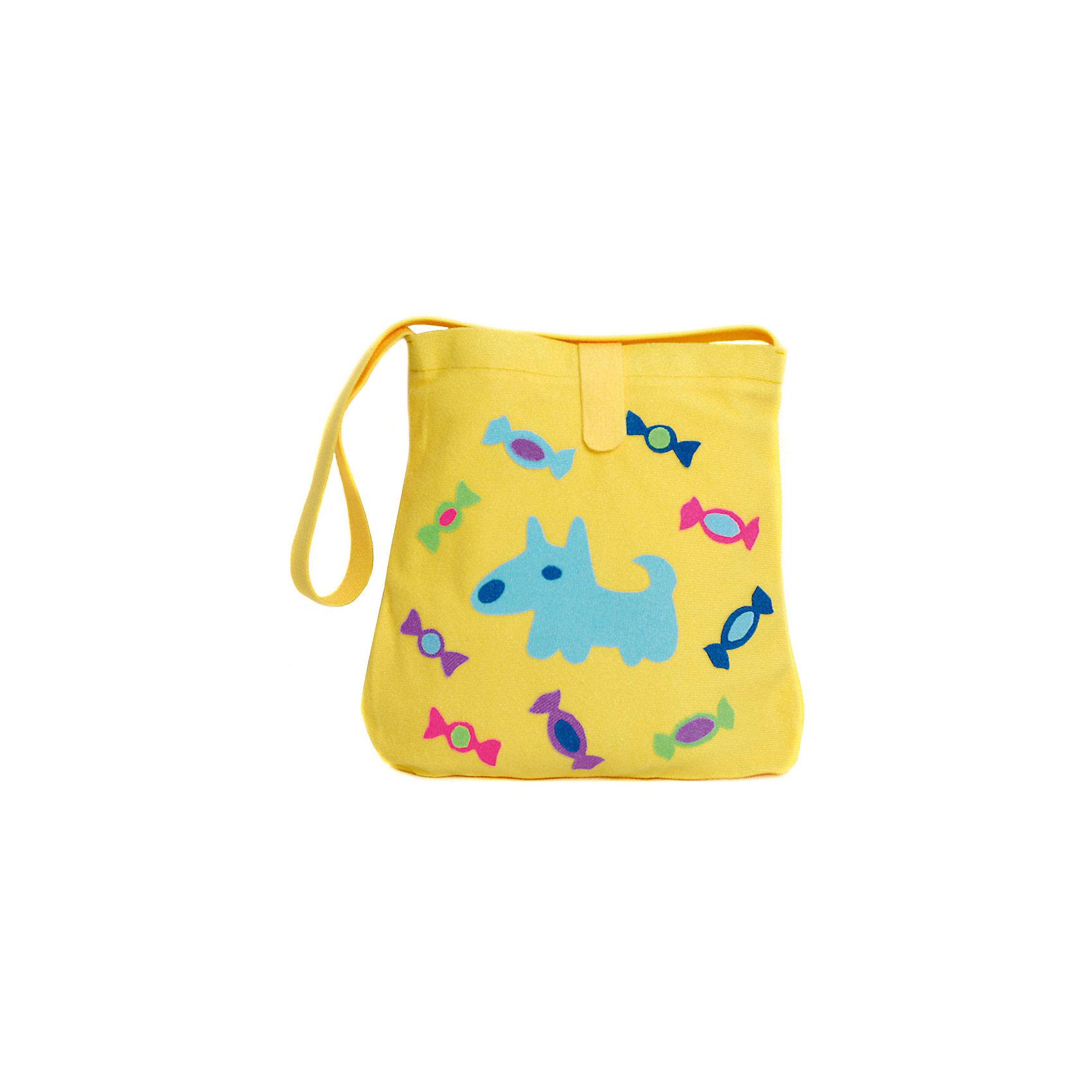 Стигис-аппликация Сумка детская, жёлтаяАксессуары<br>Если девочка давно мечтает о красивой сумке с оригинальной аппликацией, то ей обязательно понравится набор для стигис-аппликации на сумке. Ребенок сможет самостоятельно придумать дизайн и воссоздать его на сумочке при помощи ткани с термоклеевым слоем. Достаточно вырезать нужные элементы, выложить их на сумку и прогладить утюгом - красивая и практичная сумочка готова! В случае ошибки ткань можно снова прогладить утюгом, и она отклеится. Такой вид детского творчество хорошо развивает аккуратность, воображение и дизайнерские способности. Отличный подарок для юных рукодельниц!<br><br>Дополнительная информация: <br>В комплекте: сумка, кусочки stigis-ткани, выкройки, инструкция<br>Цвет: желтый<br>Размер: 3,5х27х20 см<br>Вес: 110 грамм<br>Набор для стигис-аппликации можно купить в нашем интернет-магазине.<br><br>Ширина мм: 200<br>Глубина мм: 270<br>Высота мм: 35<br>Вес г: 110<br>Возраст от месяцев: 60<br>Возраст до месяцев: 120<br>Пол: Унисекс<br>Возраст: Детский<br>SKU: 4939425