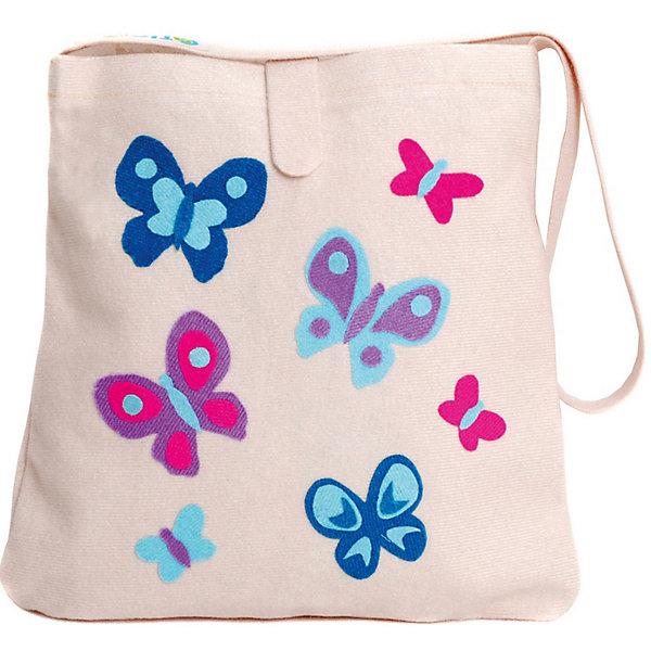 Стигис-аппликация Сумка детская, молочнаяБумага<br>Если девочка давно мечтает о красивой сумке с оригинальной аппликацией, то ей обязательно понравится набор для стигис-аппликации на сумке. Ребенок сможет самостоятельно придумать дизайн и воссоздать его на сумочке при помощи ткани с термоклеевым слоем. Достаточно вырезать нужные элементы, выложить их на сумку и прогладить утюгом - красивая и практичная сумочка готова! В случае ошибки ткань можно снова прогладить утюгом, и она отклеится. Такой вид детского творчество хорошо развивает аккуратность, воображение и дизайнерские способности. Отличный подарок для юных рукодельниц!<br><br>Дополнительная информация: <br>В комплекте: сумка, кусочки stigis-ткани, выкройки, инструкция<br>Цвет: молочный<br>Размер: 3,5х27х20 см<br>Вес: 110 грамм<br>Набор для стигис-аппликации можно купить в нашем интернет-магазине.<br><br>Ширина мм: 200<br>Глубина мм: 270<br>Высота мм: 35<br>Вес г: 110<br>Возраст от месяцев: 60<br>Возраст до месяцев: 120<br>Пол: Унисекс<br>Возраст: Детский<br>SKU: 4939427