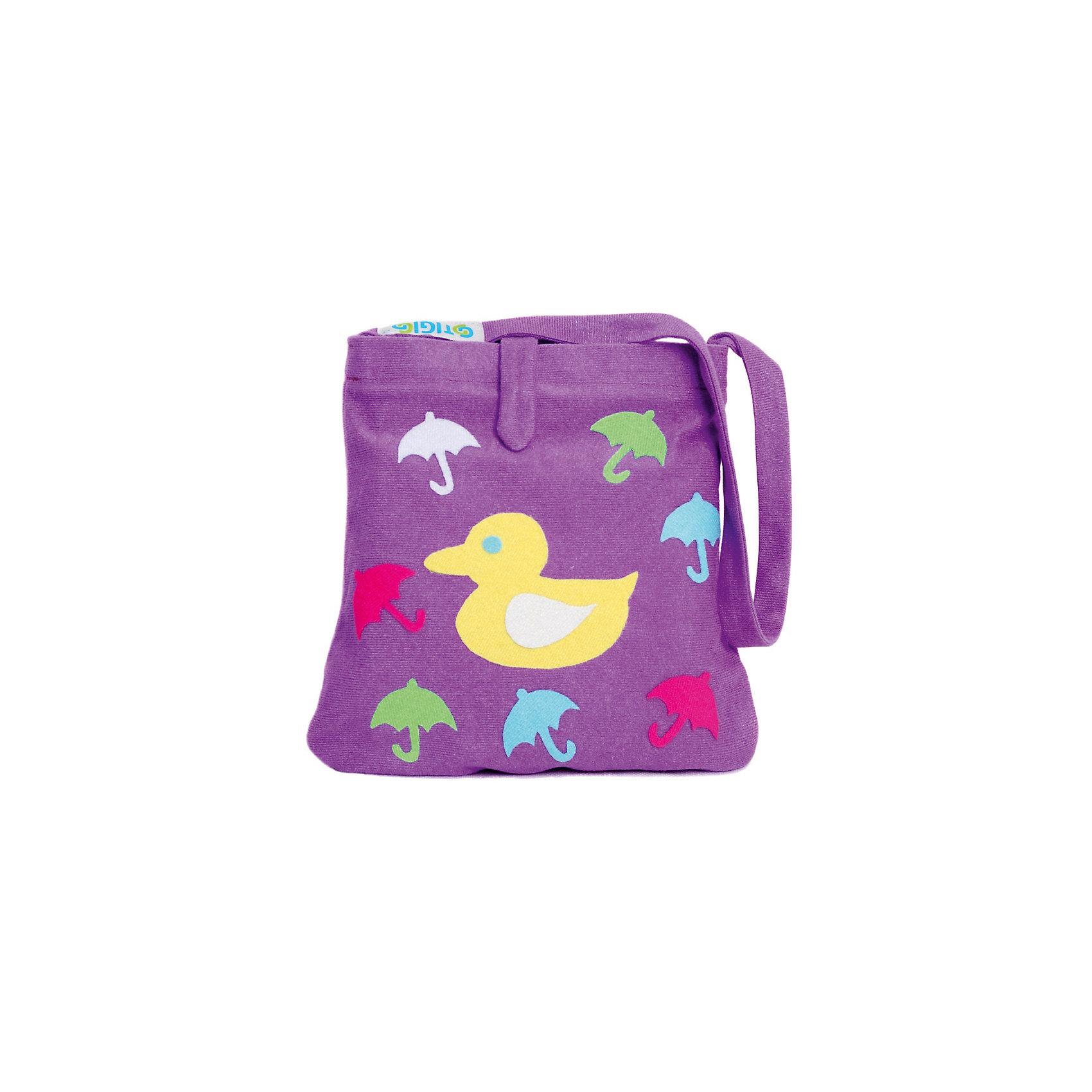 Стигис-аппликация Сумка детская, сиреневаяБумага<br>Если девочка давно мечтает о красивой сумке с оригинальной аппликацией, то ей обязательно понравится набор для стигис-аппликации на сумке. Ребенок сможет самостоятельно придумать дизайн и воссоздать его на сумочке при помощи ткани с термоклеевым слоем. Достаточно вырезать нужные элементы, выложить их на сумку и прогладить утюгом - красивая и практичная сумочка готова! В случае ошибки ткань можно снова прогладить утюгом, и она отклеится. Такой вид детского творчество хорошо развивает аккуратность, воображение и дизайнерские способности. Отличный подарок для юных рукодельниц!<br><br>Дополнительная информация: <br>В комплекте: сумка, кусочки stigis-ткани, выкройки, инструкция<br>Цвет: сиреневый<br>Размер: 3,5х27х20 см<br>Вес: 110 грамм<br>Набор для стигис-аппликации можно купить в нашем интернет-магазине.<br><br>Ширина мм: 200<br>Глубина мм: 270<br>Высота мм: 35<br>Вес г: 110<br>Возраст от месяцев: 60<br>Возраст до месяцев: 120<br>Пол: Унисекс<br>Возраст: Детский<br>SKU: 4939429