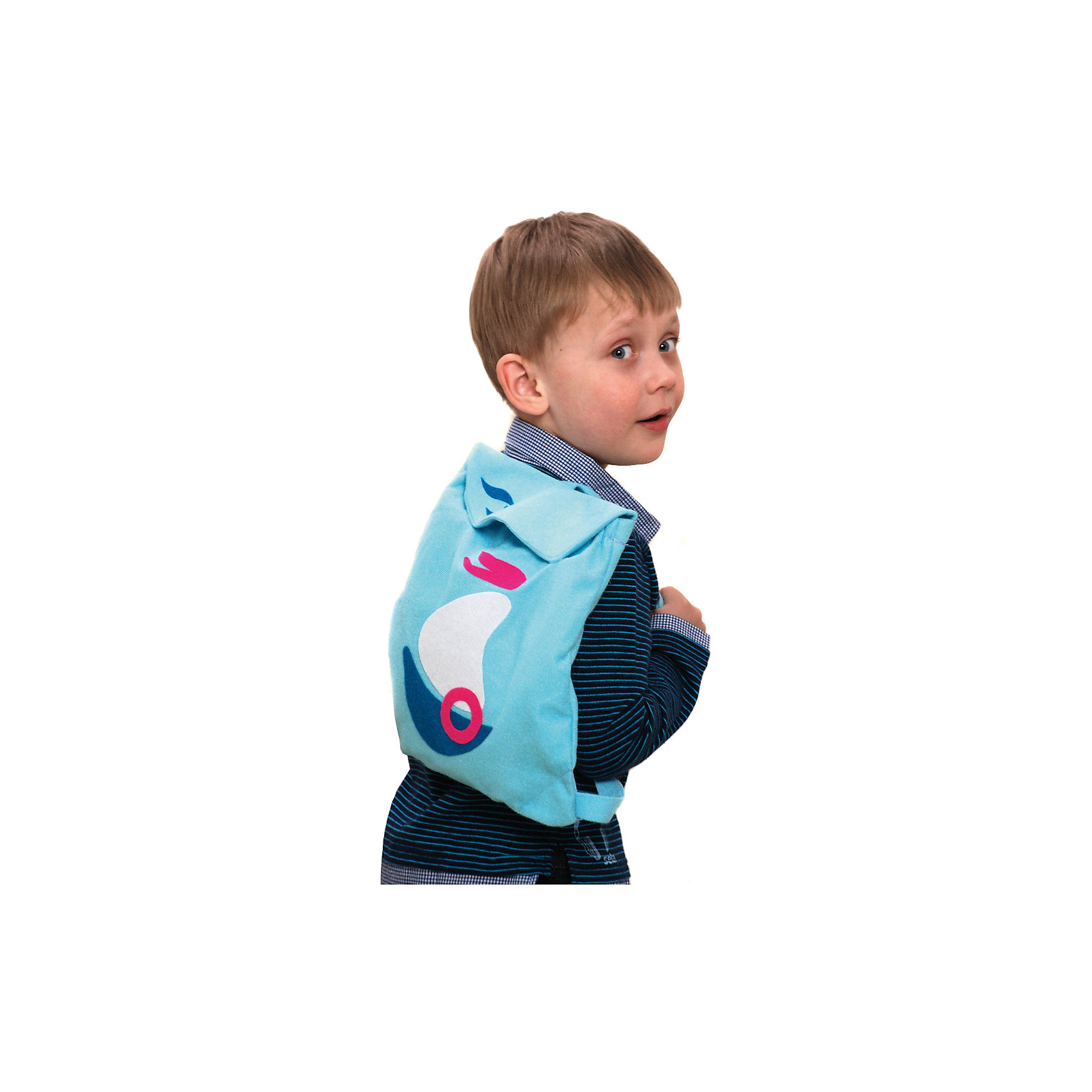 Стигис-аппликация Рюкзак детский, голубойС помощью набора для стигис-аппликации ребенок сможет создать себе уникальный рюкзачок с собственным дизайном.  Для создания красивой аппликации нужно  лишь придумать желаемый рисунок, нарисовать его на stigis-ткани, вырезать, приложить к рюкзаку и прогладить утюгом. Если готовая аппликация не понравилась, ее можно легко удалить, прогладив утюгом еще раз. Все материалы гипоаллергенны и безопасны. Такое творчество развивает усидчивость, аккуратность и дизайнерские способности ребенка. Прекрасный выбор для начинающих дизайнеров!<br><br>Дополнительная информация:<br>В комплекте: рюкзачок, stigis-ткань, выкройки, инструкция<br>Цвет: голубой<br>Размер: 3,5х27х20 см<br>Вес: 120 грамм<br>Набор для стигис-аппликации Рюкзачок можно приобрести в нашем интернет-магазине.<br><br>Ширина мм: 200<br>Глубина мм: 270<br>Высота мм: 35<br>Вес г: 120<br>Возраст от месяцев: 36<br>Возраст до месяцев: 72<br>Пол: Унисекс<br>Возраст: Детский<br>SKU: 4939434