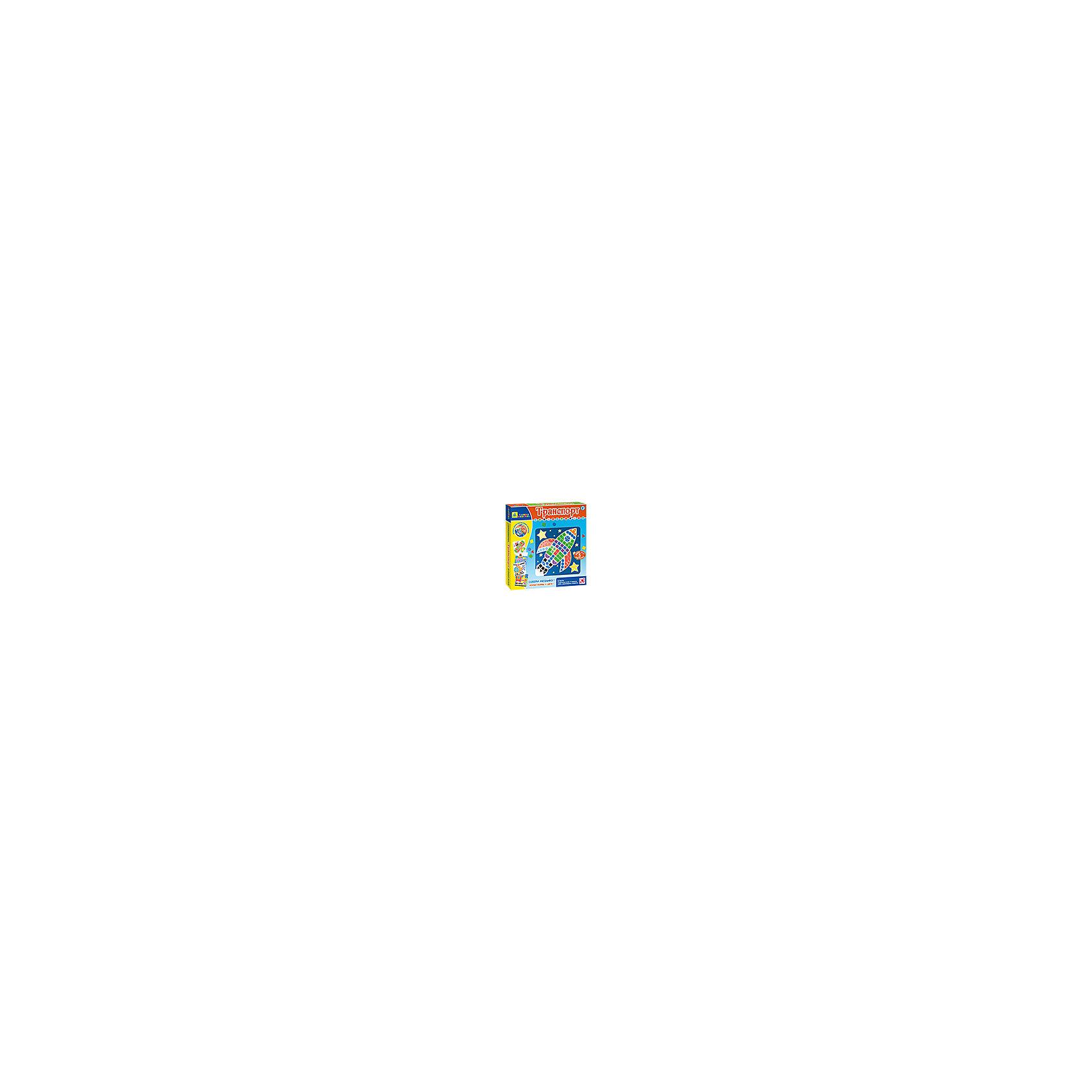 Origami Мозаика-набор Транспорт, 5 картинок росмэн набор аппликаций золотая осень 5 картинок