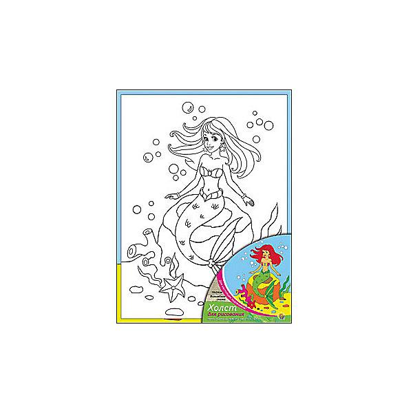 Холст с красками Волшебная сказка, 18х24 смРаскраски по номерам<br>Холст и краски Волшебная сказка помогут ребенку сделать красивую картину своими руками. Малыш сможет раскрасить эскиз на холсте так, как подскажет его воображение. Такое творчество развивает художественные таланты, аккуратность и усидчивость. Готовая поделка понравится ребенку и он с удовольствием украсит ею  свою комнату!<br><br>Дополнительная информация:<br>Сказочный персонаж: Русалочка<br>В комплекте: холст-эскиз, 7 акриловых красок, кисточка<br>Размер: 18х1,5х24 см<br>Вес: 180 грамм<br>Холст и краски Волшебная сказка вы можете купить в нашем интернет-магазине.<br><br>Ширина мм: 240<br>Глубина мм: 15<br>Высота мм: 180<br>Вес г: 180<br>Возраст от месяцев: 36<br>Возраст до месяцев: 120<br>Пол: Унисекс<br>Возраст: Детский<br>SKU: 4939509