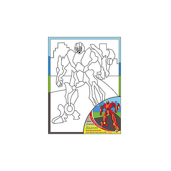 Холст с красками Трансформер, 18х24 смРаскраски по номерам<br>Холст и краски Трансформер помогут ребенку сделать красивую картину своими руками. Малыш сможет раскрасить эскиз на холсте так, как подскажет его воображение. Такое творчество развивает художественные таланты, аккуратность и усидчивость. Готовая поделка понравится ребенку и он с удовольствием украсит ею  свою комнату!<br><br>Дополнительная информация:<br>Сказочный персонаж: Трансформер<br>В комплекте: холст-эскиз, 7 акриловых красок, кисточка<br>Размер: 18х1,5х24 см<br>Вес: 180 грамм<br>Холст и краски Трансформер вы можете купить в нашем интернет-магазине.<br>Ширина мм: 240; Глубина мм: 15; Высота мм: 180; Вес г: 180; Возраст от месяцев: 36; Возраст до месяцев: 120; Пол: Унисекс; Возраст: Детский; SKU: 4939513;
