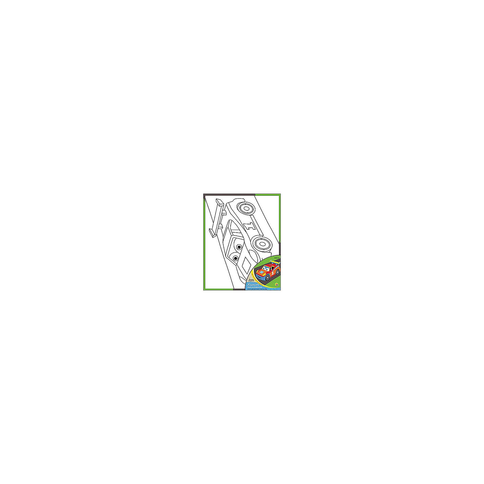 Холст с красками Весёлая машинка, 20х25 смРаскраски по номерам<br>Холст с красками Веселая машинка - прекрасный подарок детям, которые любят рисовать. В наборе вы найдете всё, что нужно для детского творчества: холст с эскизом, яркие краски и кисточка. Готовую картинку можно подарить друзьям или украсить свою комнату!<br><br>Дополнительная информация:<br>В наборе: холст-эскиз, 7 акриловых красок, кисточка<br>Размер: 20х1,5х25 см<br>Вес: 210 грамм<br>Холст с красками Веселая машинка можно купить в нашем интернет-магазине.<br><br>Ширина мм: 250<br>Глубина мм: 15<br>Высота мм: 200<br>Вес г: 210<br>Возраст от месяцев: 36<br>Возраст до месяцев: 120<br>Пол: Унисекс<br>Возраст: Детский<br>SKU: 4939518
