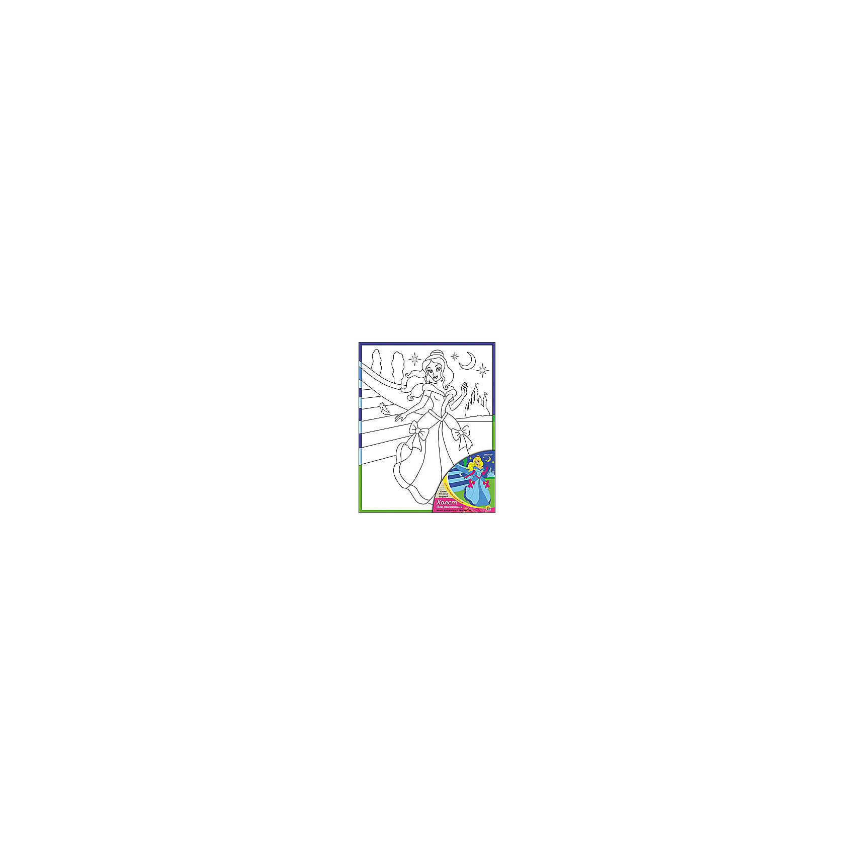 Холст с красками Сказка для самых маленьких, 20х25 смРисование<br>Холст с красками Сказка для самых маленьких - прекрасный подарок детям, которые любят рисовать. В наборе вы найдете всё, что нужно для детского творчества: холст с эскизом, яркие краски и кисточка. Готовую картинку можно подарить друзьям или украсить свою комнату!<br><br>Дополнительная информация:<br>В наборе: холст-эскиз, 7 акриловых красок, кисточка<br>Размер: 20х1,5х25 см<br>Вес: 210 грамм<br>Холст с красками Сказка для самых маленьких можно купить в нашем интернет-магазине.<br><br>Ширина мм: 250<br>Глубина мм: 15<br>Высота мм: 200<br>Вес г: 210<br>Возраст от месяцев: 36<br>Возраст до месяцев: 120<br>Пол: Унисекс<br>Возраст: Детский<br>SKU: 4939522