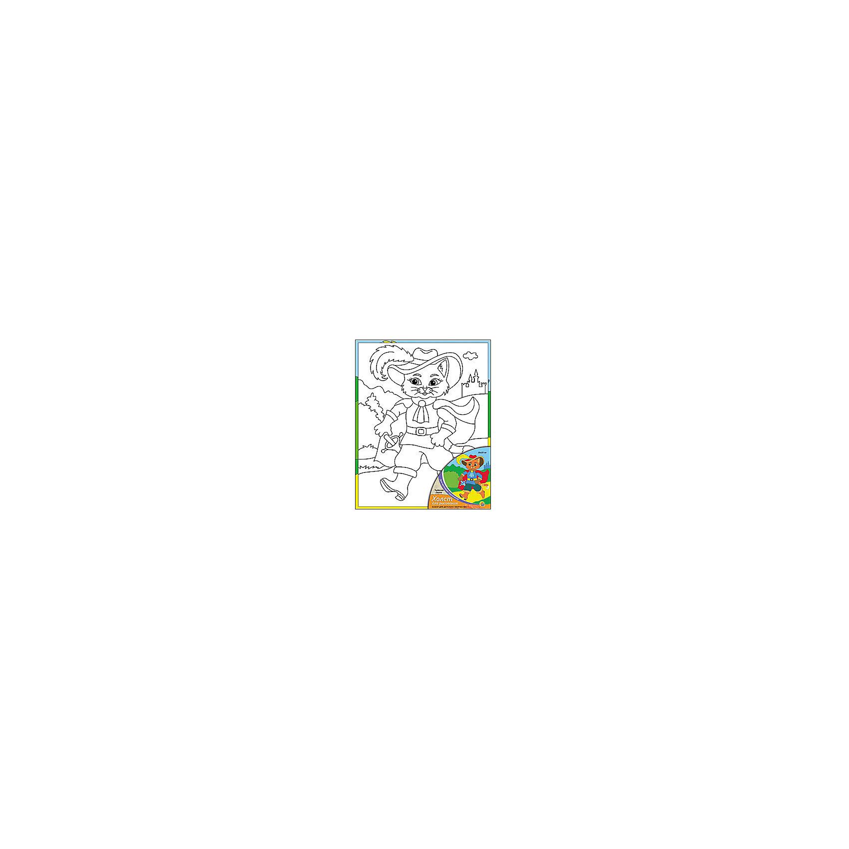 Холст с красками Чудесная сказка, 20х25 смРисование<br>Холст с красками Чудесная сказка - прекрасный подарок детям, которые любят рисовать. В наборе вы найдете всё, что нужно для детского творчества: холст с эскизом, яркие краски и кисточка. Готовую картинку можно подарить друзьям или украсить свою комнату!<br><br>Дополнительная информация:<br>Сказочный персонаж: Кот в Сапогах<br>В наборе: холст-эскиз, 7 акриловых красок, кисточка<br>Размер: 20х1,5х25 см<br>Вес: 210 грамм<br>Холст с красками Чудесная сказка можно купить в нашем интернет-магазине.<br><br>Ширина мм: 250<br>Глубина мм: 15<br>Высота мм: 200<br>Вес г: 210<br>Возраст от месяцев: 36<br>Возраст до месяцев: 120<br>Пол: Унисекс<br>Возраст: Детский<br>SKU: 4939523