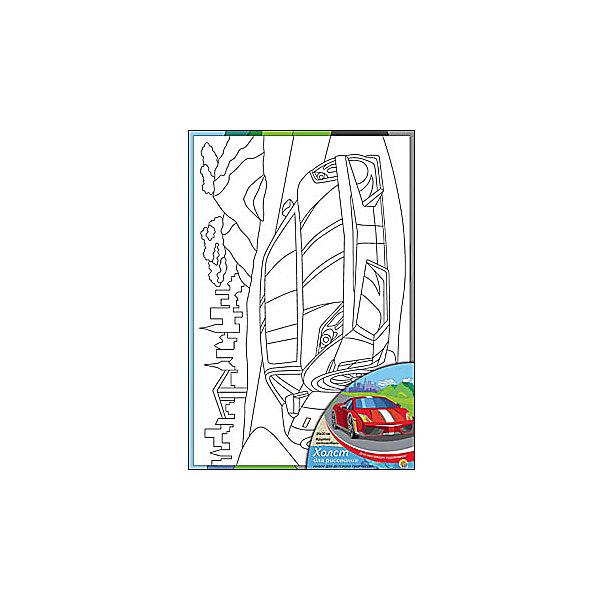 Холст с красками Крутой автомобиль, 20х30 смРаскраски по номерам<br>Ваш малыш любит рисовать? Тогда набор Крутой автомобиль обязательно порадует юного художника. Такое творчество развивает аккуратность, усидчивость и творческие навыки. Ребенок научится рисовать по холсту, и готовая яркая картинка вызовет восторг не только у него, но и у родителей, которые будут еще больше гордиться его талантами.<br><br>Дополнительная информация:<br>В наборе: холст-эскиз, 7 акриловых красок, кисточка<br>Размер: 20х1,5х30 см<br>Вес: 230 грамм<br>Холст с красками Крутой автомобиль можно купить в нашем интернет-магазине.<br><br>Ширина мм: 300<br>Глубина мм: 15<br>Высота мм: 200<br>Вес г: 230<br>Возраст от месяцев: 36<br>Возраст до месяцев: 120<br>Пол: Унисекс<br>Возраст: Детский<br>SKU: 4939529