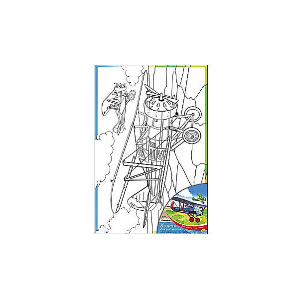 Холст с красками Самолеты, 20х30 смРаскраски по номерам<br>Ваш малыш любит рисовать? Тогда набор Самолеты обязательно порадует юного художника. Такое творчество развивает аккуратность, усидчивость и творческие навыки. Ребенок научится рисовать по холсту, и готовая яркая картинка вызовет восторг не только у него, но и у родителей, которые будут еще больше гордиться его талантами.<br><br>Дополнительная информация:<br>В наборе: холст-эскиз, 7 акриловых красок, кисточка<br>Размер: 20х1,5х30 см<br>Вес: 230 грамм<br>Холст с красками Самолеты можно купить в нашем интернет-магазине.<br>Ширина мм: 300; Глубина мм: 15; Высота мм: 200; Вес г: 230; Возраст от месяцев: 36; Возраст до месяцев: 120; Пол: Унисекс; Возраст: Детский; SKU: 4939532;