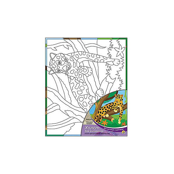 Холст с красками Большой леопард, 25х30 смРаскраски по номерам<br>Холст с красками Большой леопард поможет ребенку провести время с пользой и развить художественные навыки. Яркими красками он с удовольствием раскрасит эскиз на холсте и с гордостью сможет похвастаться родителям и друзьям!<br><br>Дополнительная информация:<br>В наборе: холст-эскиз, 7 акриловых красок, кисточка<br>Размер: 25х1,5х30 см<br>Вес: 250 грамм<br>Вы можете приобрести холст с красками Большой леопард в нашем интернет-магазине.<br>Ширина мм: 300; Глубина мм: 15; Высота мм: 250; Вес г: 250; Возраст от месяцев: 36; Возраст до месяцев: 120; Пол: Унисекс; Возраст: Детский; SKU: 4939536;