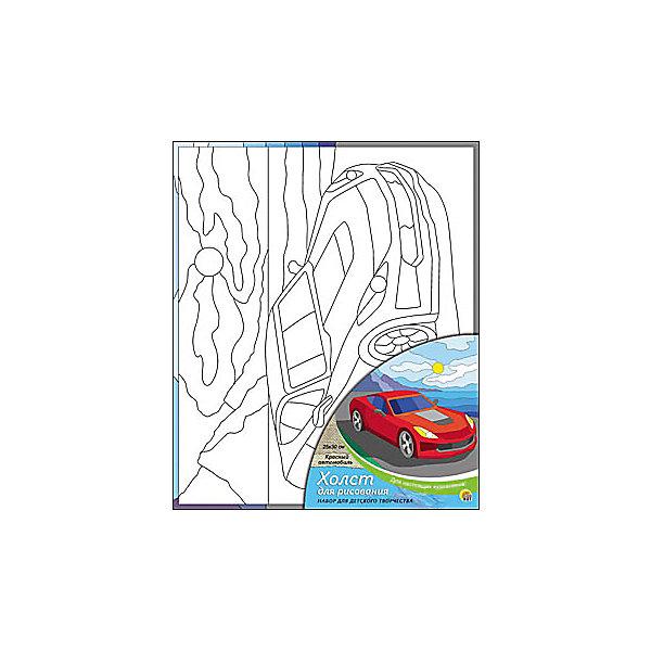 Холст с красками Красный автомобиль, 25х30 смКартины по номерам<br>Холст с красками Красный автомобиль поможет ребенку провести время с пользой и развить художественные навыки. Яркими красками он с удовольствием раскрасит эскиз на холсте и с гордостью сможет похвастаться родителям и друзьям!<br><br>Дополнительная информация:<br>В наборе: холст-эскиз, 7 акриловых красок, кисточка<br>Размер: 25х1,5х30 см<br>Вес: 250 грамм<br>Вы можете приобрести холст с красками Красный автомобиль в нашем интернет-магазине.<br>Ширина мм: 300; Глубина мм: 15; Высота мм: 250; Вес г: 250; Возраст от месяцев: 36; Возраст до месяцев: 120; Пол: Унисекс; Возраст: Детский; SKU: 4939539;