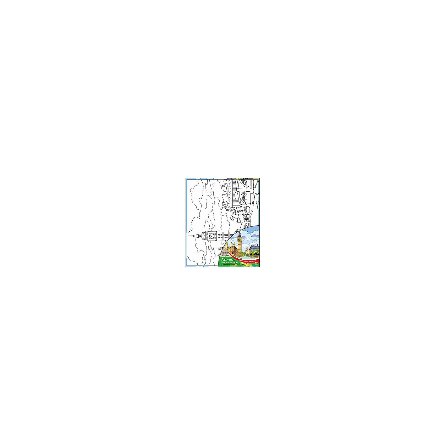 Холст с красками Лондон, 25х30 смРаскраски по номерам<br>Холст с красками Лондон поможет ребенку провести время с пользой и развить художественные навыки. Яркими красками он с удовольствием раскрасит эскиз на холсте и с гордостью сможет похвастаться родителям и друзьям!<br><br>Дополнительная информация:<br>В наборе: холст-эскиз, 7 акриловых красок, кисточка<br>Размер: 25х1,5х30 см<br>Вес: 250 грамм<br>Вы можете приобрести холст с красками Лондон в нашем интернет-магазине.<br><br>Ширина мм: 300<br>Глубина мм: 15<br>Высота мм: 250<br>Вес г: 250<br>Возраст от месяцев: 36<br>Возраст до месяцев: 120<br>Пол: Унисекс<br>Возраст: Детский<br>SKU: 4939540