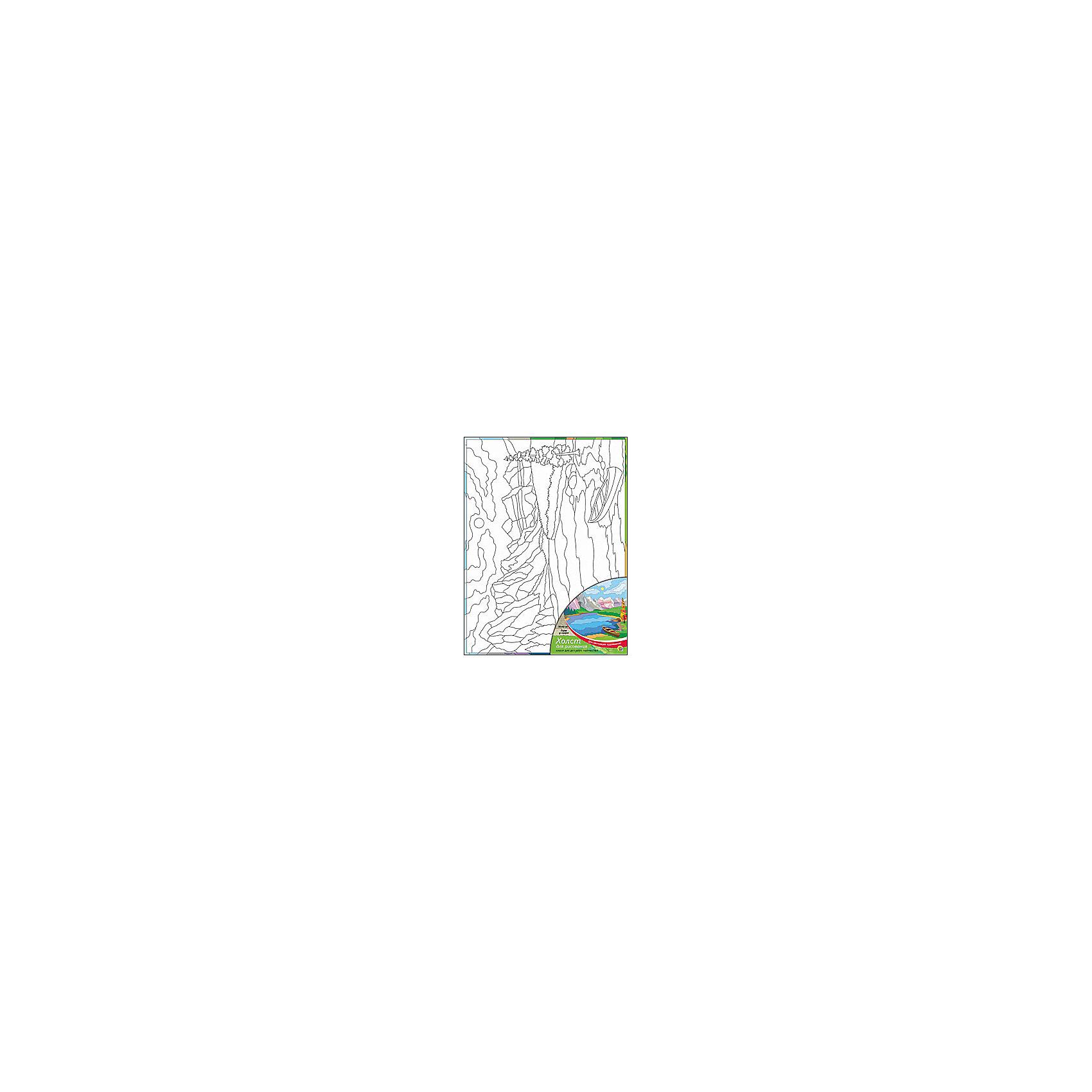 Холст с красками Горы у озера, 30х40 смДля любителей творчества прекрасно подойдет набор Горы у озера. Ребенок раскрасит нанесенный на холст эскиз яркими акриловыми красками. Такое творчество поможет развить аккуратность, усидчивость и художественные навыки. Готовую картину можно подарить друзьям или оставить для украшения своей комнаты.<br><br>Дополнительная информация:<br>В наборе: холст-эскиз, 16 акриловых красок, кисточка<br>Размер: 30х1,5х40 см<br>Вес: 370 грамм<br>Вы можете приобрести холст с красками Горы у озера в нашем интернет-магазине.<br><br>Ширина мм: 400<br>Глубина мм: 15<br>Высота мм: 300<br>Вес г: 370<br>Возраст от месяцев: 36<br>Возраст до месяцев: 120<br>Пол: Унисекс<br>Возраст: Детский<br>SKU: 4939547