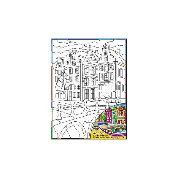 Холст с красками Европейская улица, 30х40 смРаскраски по номерам<br>Для любителей творчества прекрасно подойдет набор Европейская улица. Ребенок раскрасит нанесенный на холст эскиз яркими акриловыми красками. Такое творчество поможет развить аккуратность, усидчивость и художественные навыки. Готовую картину можно подарить друзьям или оставить для украшения своей комнаты.<br><br>Дополнительная информация:<br>В наборе: холст-эскиз, 16 акриловых красок, кисточка<br>Размер: 30х1,5х40 см<br>Вес: 370 грамм<br>Вы можете приобрести холст с красками Европейская улица в нашем интернет-магазине.<br>Ширина мм: 400; Глубина мм: 15; Высота мм: 300; Вес г: 370; Возраст от месяцев: 36; Возраст до месяцев: 120; Пол: Унисекс; Возраст: Детский; SKU: 4939549;