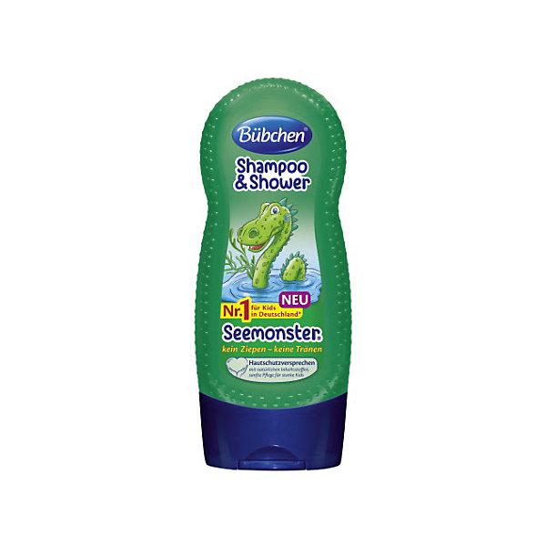Шампунь для мытья волос и тела Зеленый монстр, BUBCHEN, 230 мл.Детские шампуни<br>Шампунь для мытья волос и тела Зеленый монстр, BUBCHEN, 230 мл..– это то, что вы искали для своего малыша. Этот шампунь обеспечивает нежное очищение, защиту и увлажнение сразу во время купания. Совмещает в себе шампунь для волос и гель для душа. Шампунь обладает приятным запахом и благодаря натуральным компонентам обеспечивает увлажнение и питание кожи и волос. После использования шампуня волосы становятся послушными и легко расчесываются. Способ применения: нанесите небольшое количество шампуня на губку или руку и затем на влажную кожу и влажные волосы. Легко помассируйте и затем смойте теплой водой пену. Также можно добавить несколько капель шампуня в ванну. <br><br>Дополнительная информация:<br>- PH-нейтральный для кожи<br>- Не раздражает глаза<br>- Подходит для ежедневного ухода<br>- Размер: 50 * 100 * 50 мм<br><br>Шампунь для мытья волос и тела Зеленый монстр, BUBCHEN, 230 мл. можно купить в нашем интернет-магазине.<br><br>Подробнее:<br>• Для детей в возрасте: от 3 до 10 лет<br>• Номер товара: 4940223<br>Страна производитель: Германия<br>Ширина мм: 50; Глубина мм: 100; Высота мм: 50; Вес г: 299; Возраст от месяцев: 36; Возраст до месяцев: 2147483647; Пол: Унисекс; Возраст: Детский; SKU: 4940223;