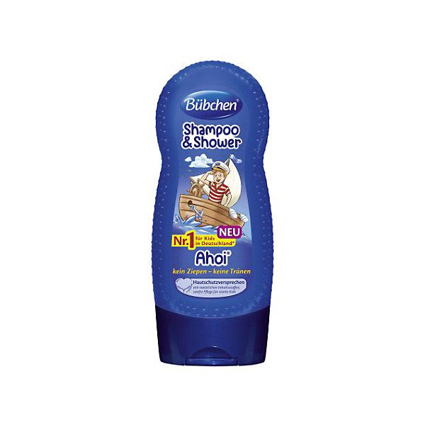 Шампунь мытья волос и тела Йо хо хо, BUBCHEN, 230 мл.Детские шампуни<br>Шампунь мытья волос и тела Йо хо хо, BUBCHEN, 230 мл.– это то, что вы искали для своего малыша. Этот шампунь обеспечивает нежное очищение, защиту и увлажнение сразу во время купания. Совмещает в себе шампунь для волос и гель для душа. Шампунь обладает приятным запахом и благодаря натуральным компонентам обеспечивает увлажнение и питание кожи и волос. После использования шампуня волосы становятся послушными и легко расчесываются. Способ применения: нанесите небольшое количество шампуня на губку или руку и затем на влажную кожу и влажные волосы. Легко помассируйте и затем смойте теплой водой пену. Также можно добавить несколько капель шампуня в ванну. <br><br>Дополнительная информация:<br>- PH-нейтральный для кожи<br>- Не раздражает глаза<br>- Подходит для ежедневного ухода<br>- Размер: 50 * 100 * 50 мм<br><br>Шампунь мытья волос и тела Йо хо хо, BUBCHEN, 230 мл. можно купить в нашем интернет-магазине.<br><br>Подробнее:<br>• Для детей в возрасте: от 3 до 10 лет<br>• Номер товара: 4940226<br>Страна производитель: Германия<br><br>Ширина мм: 50<br>Глубина мм: 100<br>Высота мм: 50<br>Вес г: 299<br>Возраст от месяцев: 36<br>Возраст до месяцев: 2147483647<br>Пол: Унисекс<br>Возраст: Детский<br>SKU: 4940226