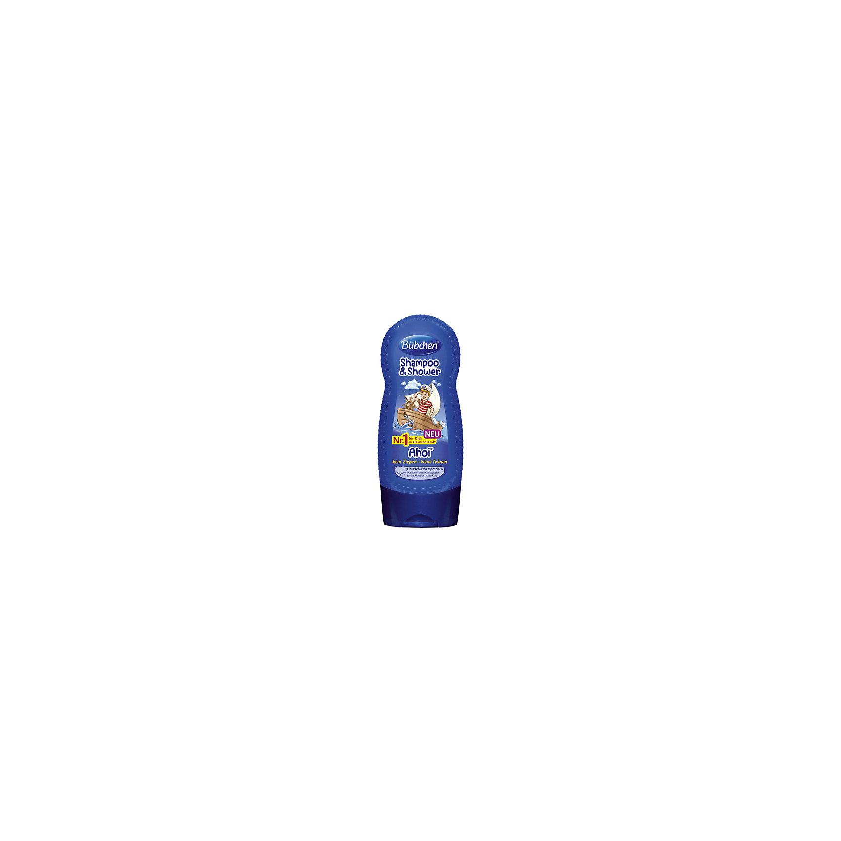 Шампунь мытья волос и тела Йо хо хо, BUBCHEN, 230 мл.Шампунь мытья волос и тела Йо хо хо, BUBCHEN, 230 мл.– это то, что вы искали для своего малыша. Этот шампунь обеспечивает нежное очищение, защиту и увлажнение сразу во время купания. Совмещает в себе шампунь для волос и гель для душа. Шампунь обладает приятным запахом и благодаря натуральным компонентам обеспечивает увлажнение и питание кожи и волос. После использования шампуня волосы становятся послушными и легко расчесываются. Способ применения: нанесите небольшое количество шампуня на губку или руку и затем на влажную кожу и влажные волосы. Легко помассируйте и затем смойте теплой водой пену. Также можно добавить несколько капель шампуня в ванну. <br><br>Дополнительная информация:<br>- PH-нейтральный для кожи<br>- Не раздражает глаза<br>- Подходит для ежедневного ухода<br>- Размер: 50 * 100 * 50 мм<br><br>Шампунь мытья волос и тела Йо хо хо, BUBCHEN, 230 мл. можно купить в нашем интернет-магазине.<br><br>Подробнее:<br>• Для детей в возрасте: от 3 до 10 лет<br>• Номер товара: 4940226<br>Страна производитель: Германия<br><br>Ширина мм: 50<br>Глубина мм: 100<br>Высота мм: 50<br>Вес г: 299<br>Возраст от месяцев: 36<br>Возраст до месяцев: 2147483647<br>Пол: Унисекс<br>Возраст: Детский<br>SKU: 4940226