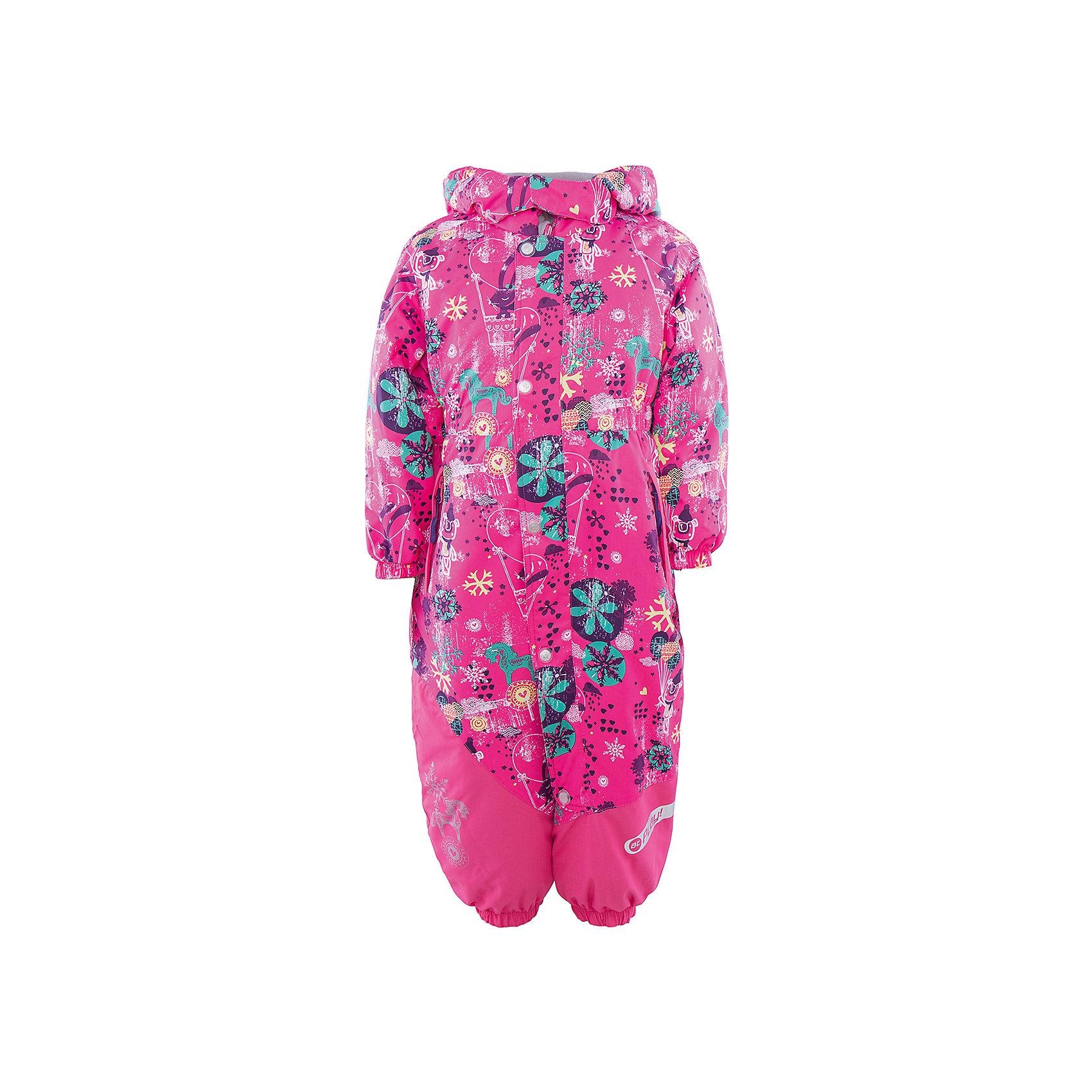 Комбинезон для девочки atPlay!Верхняя одежда<br>Зимой необходимо особенно тщательно подходить к подбору одежды для ребенка. Чтобы обеспечить ему тепло, сухость и комфорт, можно выбрать этот комбинезон, сшитый из мембранного материала.<br>Он позволяет коже дышать, помогает выводить лишнюю влагу, при этом не позволяет ребенку замерзнуть или промокнуть. Выглядит при этом модель очень симпатично! Изделие выполнено очень качественно. Фурнитура для него подбиралась с учетом особенностей детского организма. В комплекте идет также мягкий флисовый комбинезон, который надевается под основной.<br><br><br>Дополнительная информация:<br><br>цвет: фиолетовый;<br>материал: полиэстер, фурнитура YKK, водо- и грязеотталкивающее покрытие Teflon, нижний комбинезон - флис;<br>утеплитель: Thinsulate 200 г;<br>температурный режим: от -30°С до +5° С;<br>мягкие элементы на капюшоне и воротнике;<br>паропроницаемость: 10000 г / м.куб. / 24 ч;<br>водонепроницаемость: 10000 мм / 24 ч;<br>швы проклеены;<br>капюшон регулируется;<br>планка от ветра (двойная);<br>штрипки из силикона можно снять;<br>карманы застегиваются на молнию;<br>утепленные колени;<br>детали, отражающие свет.<br><br>Комбинезон для девочки от бренда atPlay! можно приобрести в нашем интернет-магазине.<br><br>Ширина мм: 356<br>Глубина мм: 10<br>Высота мм: 245<br>Вес г: 519<br>Цвет: розовый<br>Возраст от месяцев: 12<br>Возраст до месяцев: 18<br>Пол: Женский<br>Возраст: Детский<br>Размер: 86,98,92<br>SKU: 4940468