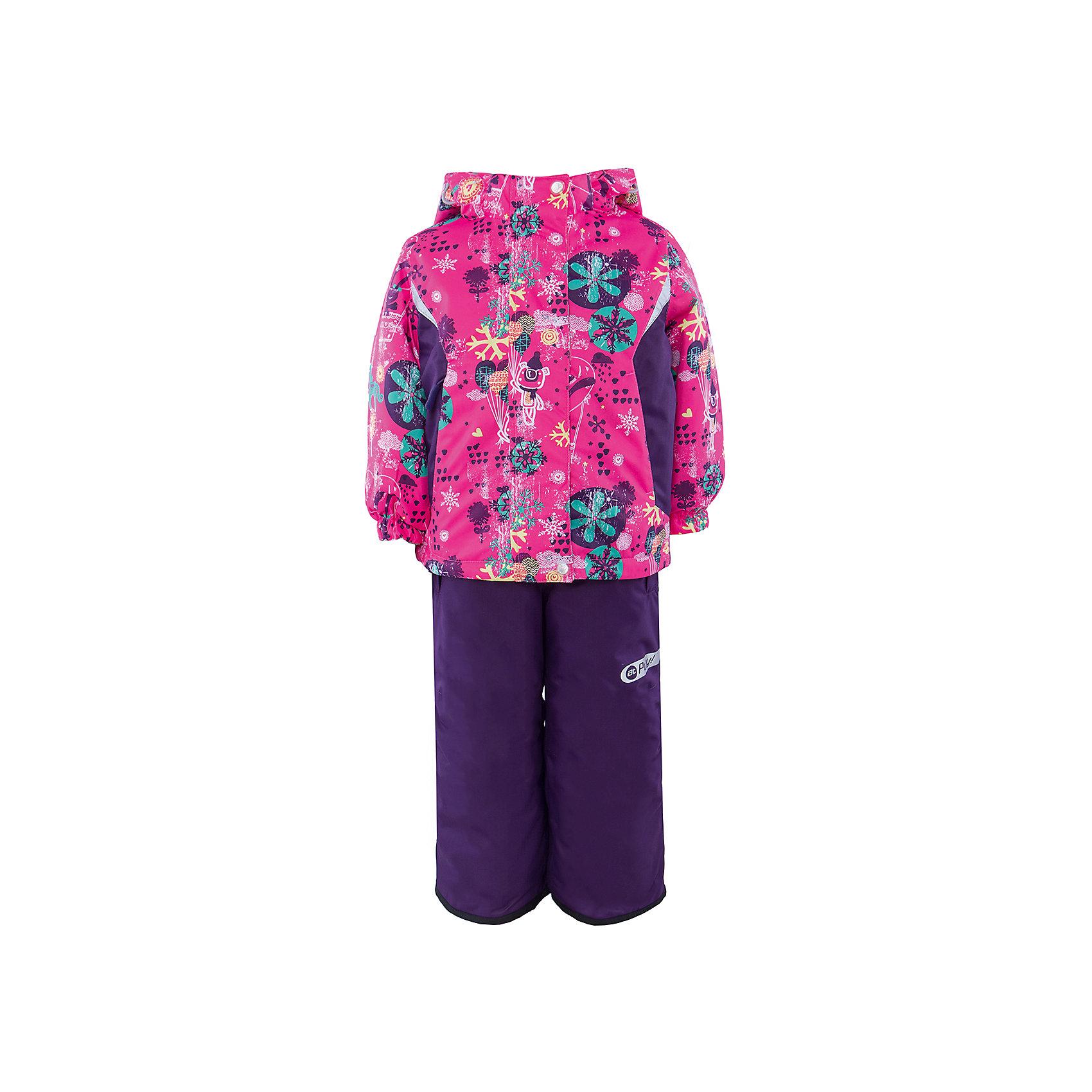 Комплект: куртка и полукомбинезон для девочки atPlay!Зимой необходимо особенно тщательно подходить к подбору одежды для ребенка. Чтобы обеспечить ему тепло, сухость и комфорт, можно выбрать этот костюм, сшитый из мембранного материала.<br>Он позволяет коже дышать, помогает выводить лишнюю влагу, при этом не позволяет ребенку замерзнуть или промокнуть. Выглядит при этом модель очень симпатично! Изделие выполнено очень качественно. Фурнитура для него подбиралась с учетом особенностей детского организма. В комплекте идет курточка, полукомбинезон.<br><br><br>Дополнительная информация:<br><br>цвет: фиолетовый;<br>материал: полиэстер, фурнитура YKK, водо- и грязеотталкивающее покрытие Teflon, подкладка - флис;<br>утеплитель: Thinsulate 200 г;<br>температурный режим: от -30°С до +5° С;<br>мягкие элементы на капюшоне и воротнике;<br>паропроницаемость: 10000 г / м.куб. / 24 ч;<br>водонепроницаемость: 10000 мм / 24 ч;<br>швы проклеены;<br>капюшон регулируется.<br><br>Костюм для девочки от бренда atPlay! можно приобрести в нашем интернет-магазине.<br><br>Ширина мм: 356<br>Глубина мм: 10<br>Высота мм: 245<br>Вес г: 519<br>Цвет: розовый<br>Возраст от месяцев: 12<br>Возраст до месяцев: 18<br>Пол: Женский<br>Возраст: Детский<br>Размер: 86,98,92<br>SKU: 4940472