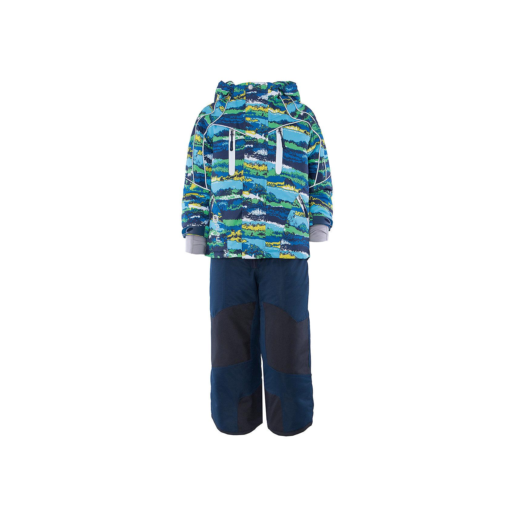 Комплект: куртка и полукомбинезон для мальчика atPlay!Верхняя одежда<br>В холода необходимо особенно тщательно подходить к подбору одежды для ребенка. Чтобы обеспечить ему тепло, сухость и комфорт, можно выбрать этот костюм, сшитый из мембранного материала.<br>Он позволяет коже дышать, помогает выводить лишнюю влагу, при этом не позволяет ребенку замерзнуть или промокнуть. Выглядит при этом модель очень симпатично! Изделие выполнено очень качественно. Фурнитура для него подбиралась с учетом особенностей детского организма. В комплекте идет курточка и полукомбинезон.<br><br><br>Дополнительная информация:<br><br>цвет: зеленый;<br>материал: полиэстер, фурнитура YKK, водо- и грязеотталкивающее покрытие Teflon, нижний комбинезон - флис;<br>утеплитель: Thinsulate 150 г;<br>температурный режим: от -25° С до +5° С;<br>мягкие элементы на капюшоне и воротнике;<br>паропроницаемость: 10000 г / м.куб. / 24 ч;<br>водонепроницаемость: 10000 мм / 24 ч;<br>швы проклеены;<br>капюшон регулируется.<br><br>Костюм для мальчика от бренда atPlay! можно приобрести в нашем интернет-магазине.<br><br>Ширина мм: 356<br>Глубина мм: 10<br>Высота мм: 245<br>Вес г: 519<br>Цвет: зеленый<br>Возраст от месяцев: 84<br>Возраст до месяцев: 96<br>Пол: Мужской<br>Возраст: Детский<br>Размер: 128,104,110,116,122<br>SKU: 4940527