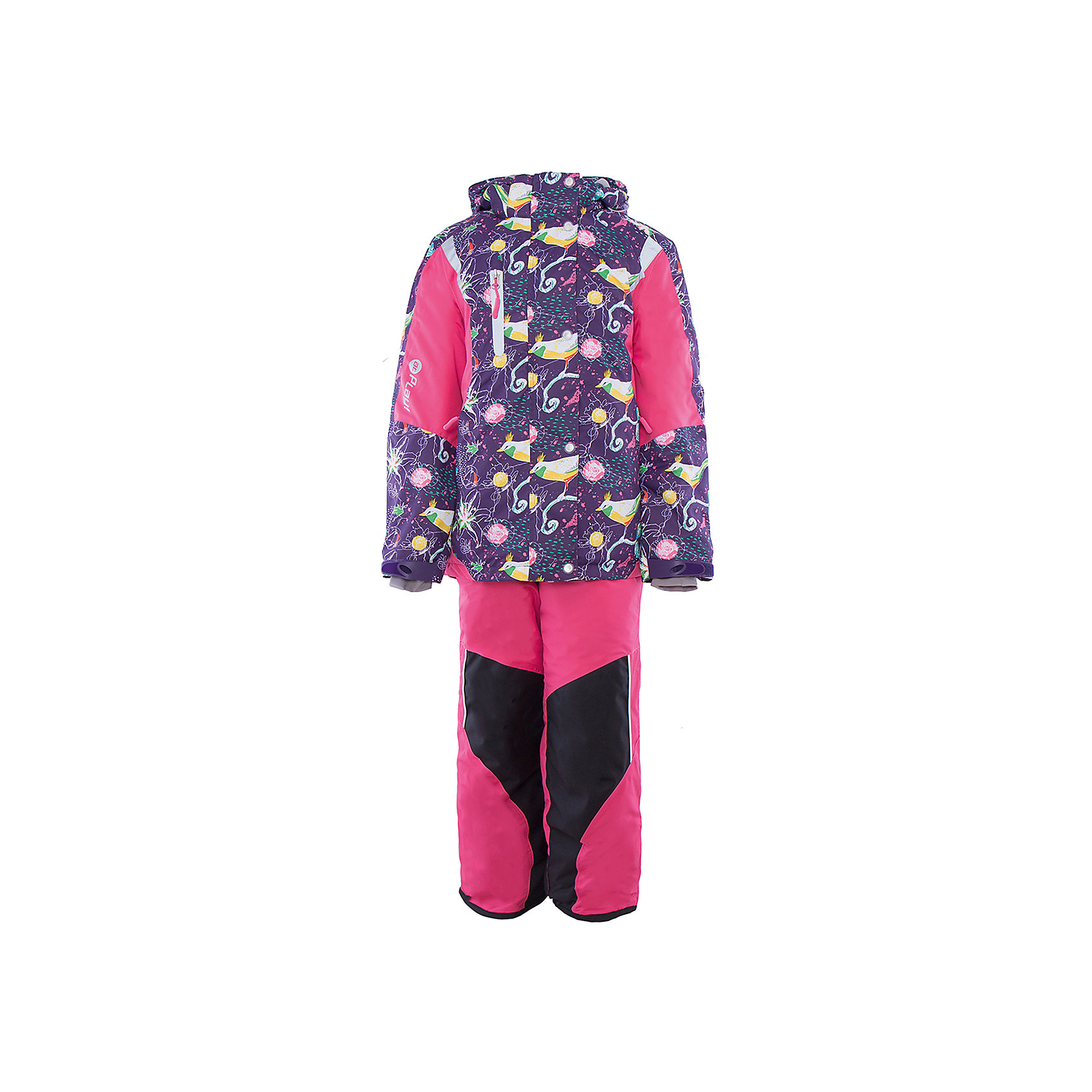 atPlay! Комплект: куртка и полукомбинезон для девочки atPlay! зимний костюм atplay