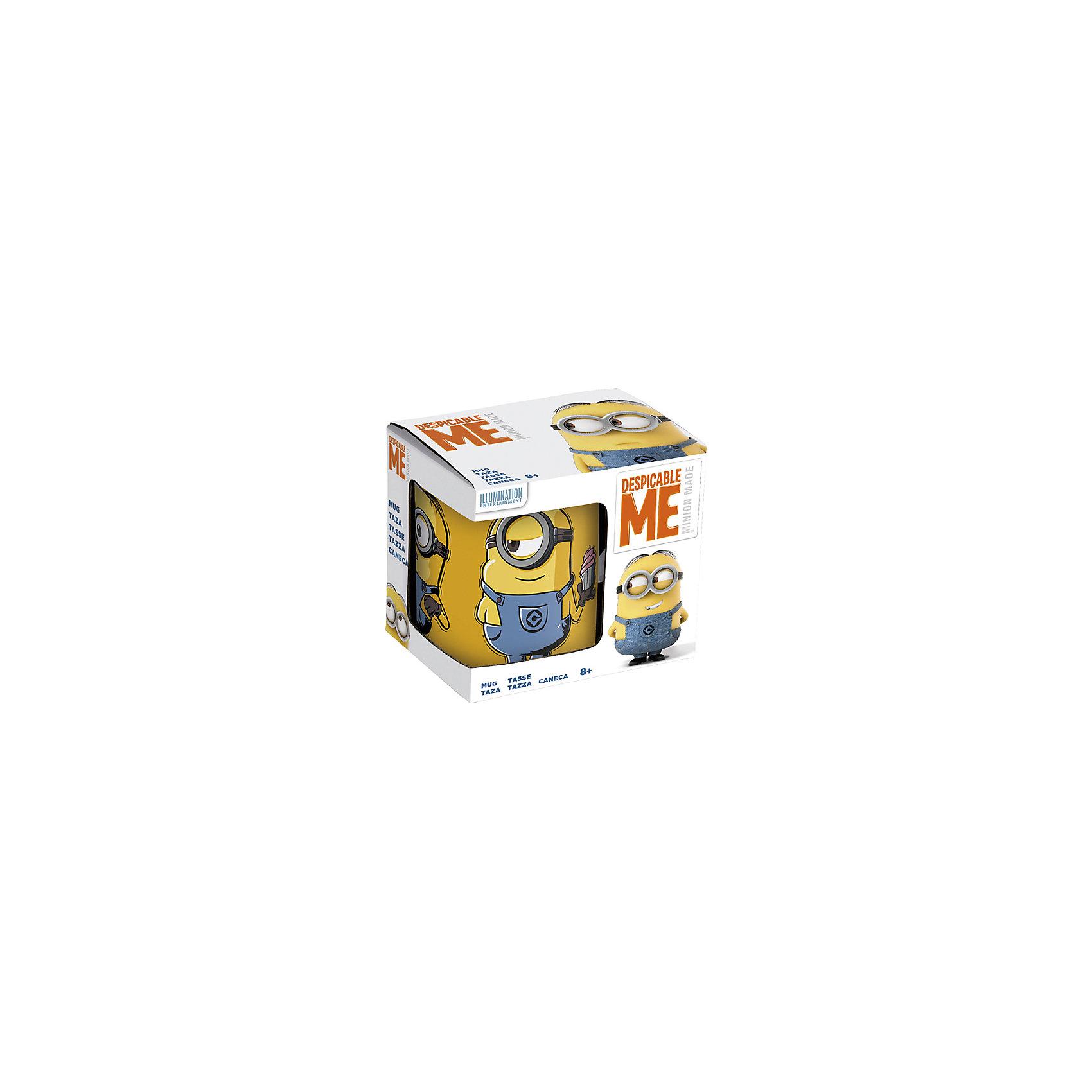 Кружка  «Миньоны» в подарочной упаковке, 330 мл