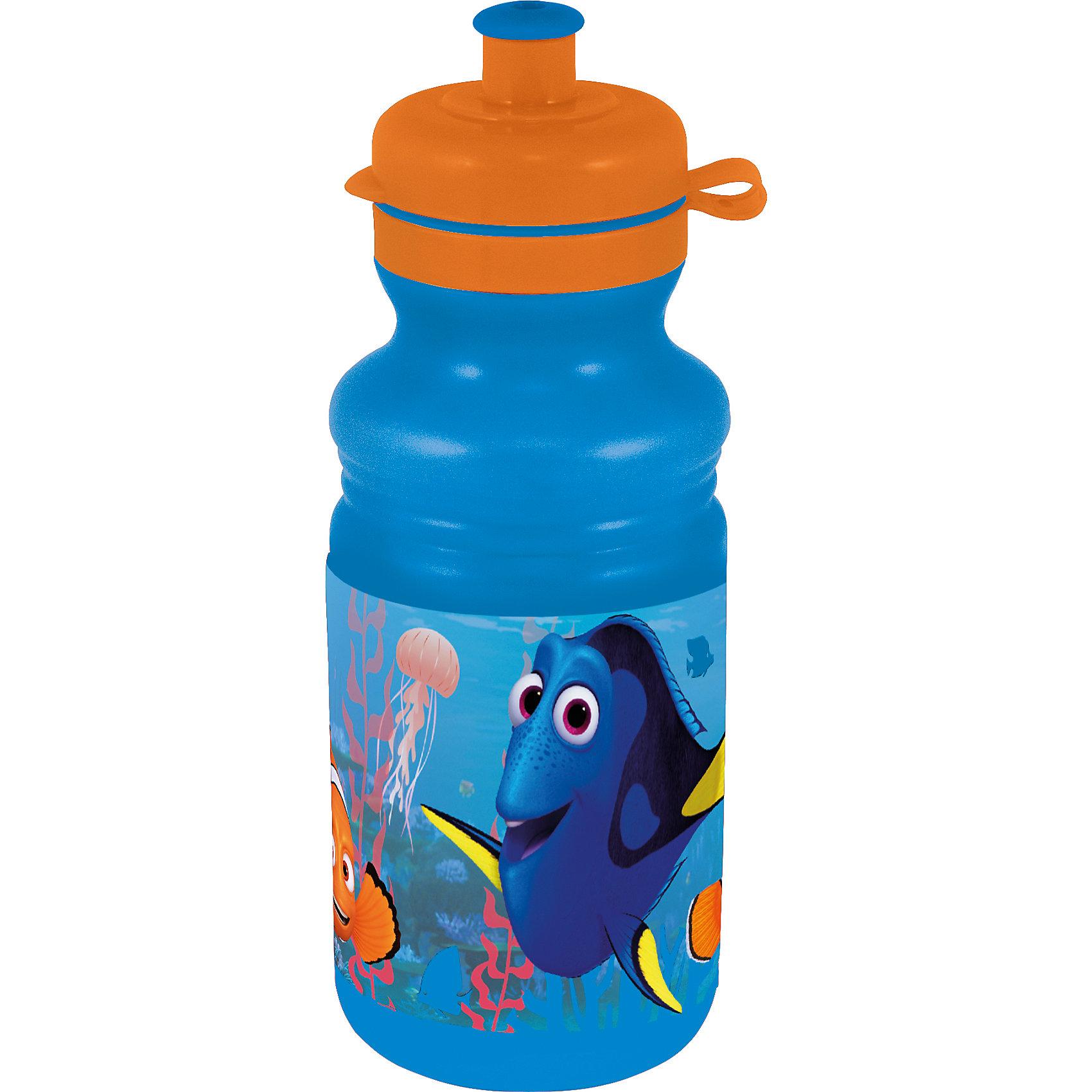Бутылка для воды В поисках Дори, 500 млБутылка для воды В поисках Дори, 500 мл – незаменимая вещь для спорта, прогулки и школы.<br>Вода всегда необходима активному ребенку, а благодаря такой бутылке он никогда не прольет воду на свои вещи. Закрывающийся клапан не позволяет воде протечь и не может быть случайно открыт при ходьбе. Бутылка сделана из гипоаллергенного пластика, который не выделяет вредные вещества в воду. Форма бутылки сделана по системе против выскальзывания из рук. <br><br>Дополнительная информация:<br><br>- материал: пластик<br>- объем: 500 мл<br><br>Бутылку для воды В поисках Дори, 500 мл можно купить в нашем магазине.<br><br>Ширина мм: 75<br>Глубина мм: 75<br>Высота мм: 195<br>Вес г: 90<br>Возраст от месяцев: 36<br>Возраст до месяцев: 120<br>Пол: Унисекс<br>Возраст: Детский<br>SKU: 4940687