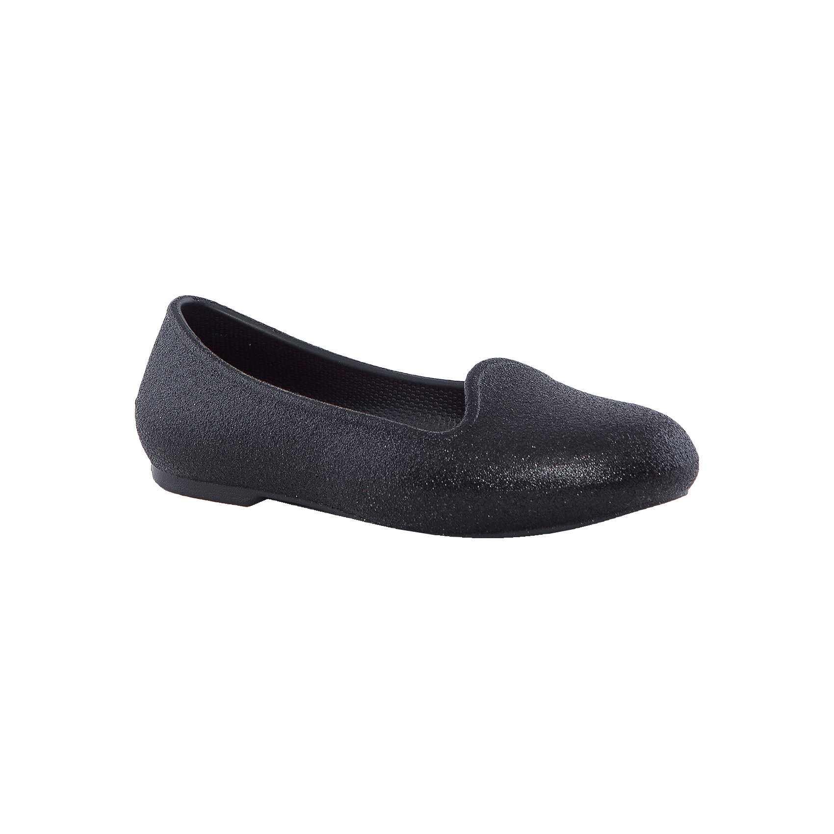 Сабо Eve Sparkle Youth US 3 Black Flats для девочки Crocs