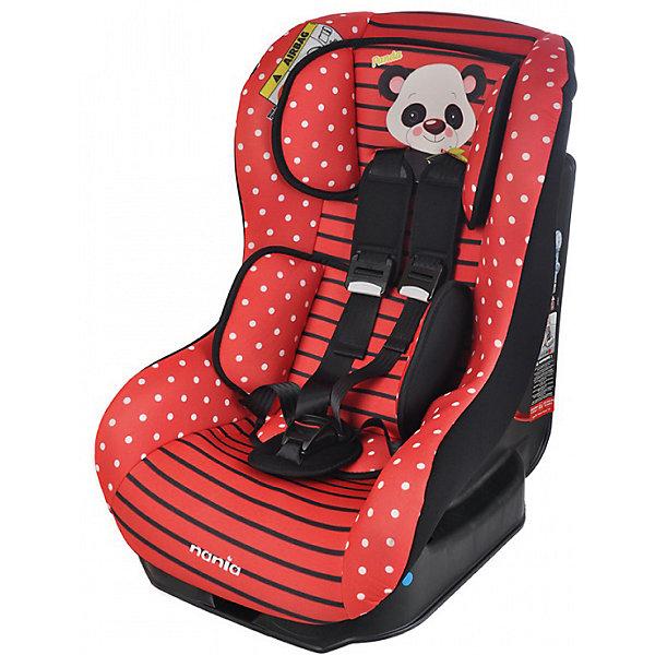 Автокресло Nania Driver 0-18 кг, panda redГруппа 0-1 (до 18 кг)<br>Автокресло Driver, 0-18 кг., Nania, panda red – удобство и безопасность для вашего малыша.<br>Кресло сделано из прочного полипропилена и имеет пятиточечные ремни безопасности с возможностью отрегулировать по размеру ребенка. Спинку кресла можно опускать до положения полулежа, а мягкая подушка под голову даст ребенку возможность поспать в дороге. Модель подойдет для детей от 0 до 18 килограмм. Кресло легко крепится как походу движения, так и против. Соответствует всем современным требованиям к безопасности. Кресло легко стирать благодаря съемному чехлу. <br>Дополнительная информация:<br><br>- цвет: розовый, черный<br>- материал: текстиль, пластик<br>- вес ребенка: 0 до 18 кг<br>- вес кресла: 12,5 кг<br>- размер: 61x57x46<br><br>Автокресло Driver, 0-18 кг., Nania, panda red можно купить в нашем магазине.<br><br>Ширина мм: 460<br>Глубина мм: 520<br>Высота мм: 600<br>Вес г: 12490<br>Возраст от месяцев: 0<br>Возраст до месяцев: 48<br>Пол: Унисекс<br>Возраст: Детский<br>SKU: 4940924