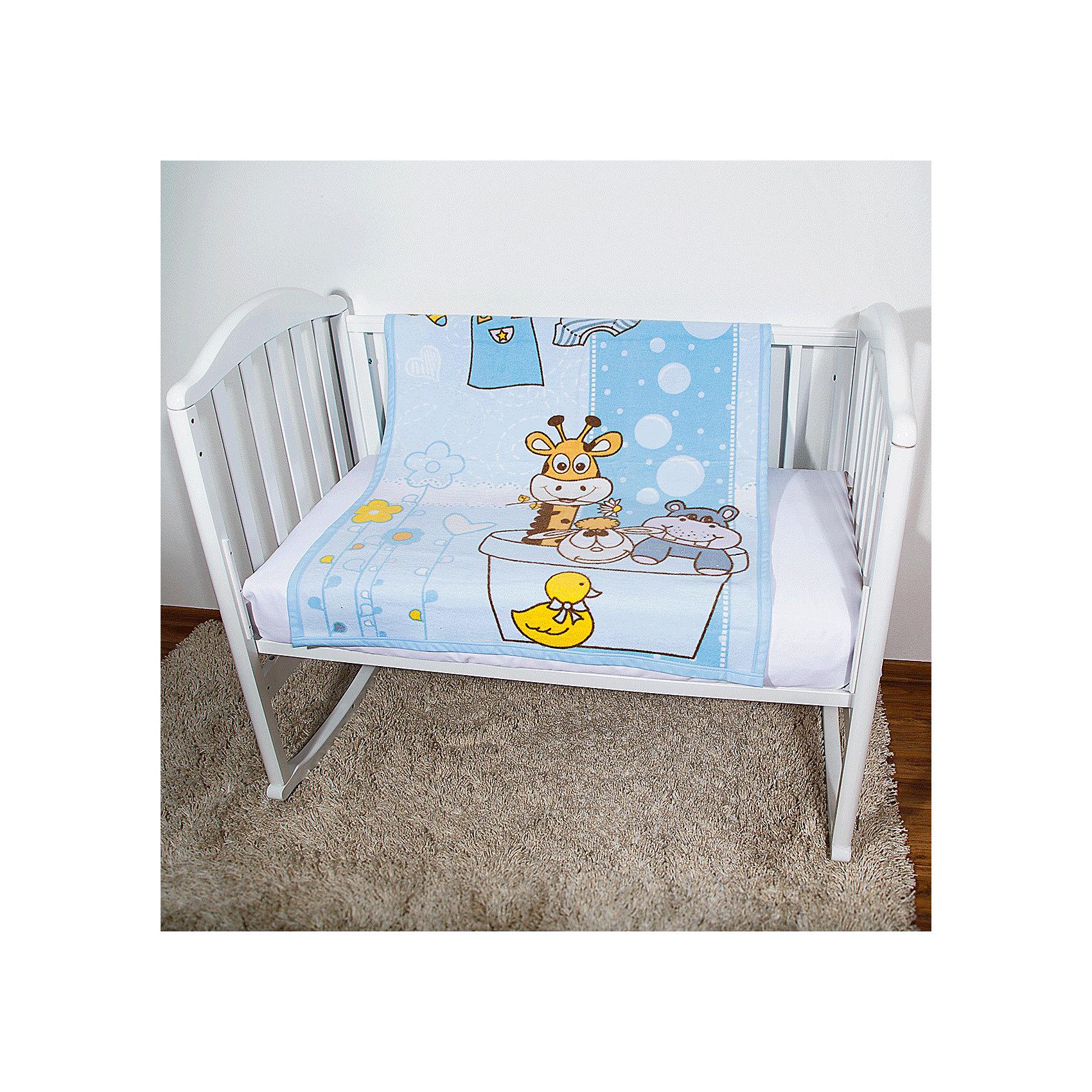 Одеяло байковое Купание, 85х115 2-сторон., Baby Nice, голубойПредметы, находящиеся в детской кроватке, должны быть качественными и безопасными. Это одеяло разработано специально для малышей, оно обеспечивает комфорт на всю ночь. Одеяло украшено симпатичным принтом.<br>Одеяло сшито из натурального дышащего хлопка, приятного на ощупь. Он не вызывает аллергии, что особенно важно для малышей. Оно обеспечит хорошую терморегуляцию, впитает лишнюю влагу, а значит - крепкий сон. Одеяло сделано из высококачественных материалов, безопасных для ребенка.<br><br>Дополнительная информация:<br><br>цвет: голубой;<br>материал: хлопок;<br>принт;<br>двустороннее;<br>размер: 85 х 115 см.<br><br>Одеяло байковое Купание, 85х115 2-сторон. от компании Baby Nice можно купить в нашем магазине.<br><br>Ширина мм: 230<br>Глубина мм: 250<br>Высота мм: 40<br>Вес г: 500<br>Возраст от месяцев: 0<br>Возраст до месяцев: 36<br>Пол: Унисекс<br>Возраст: Детский<br>SKU: 4941756