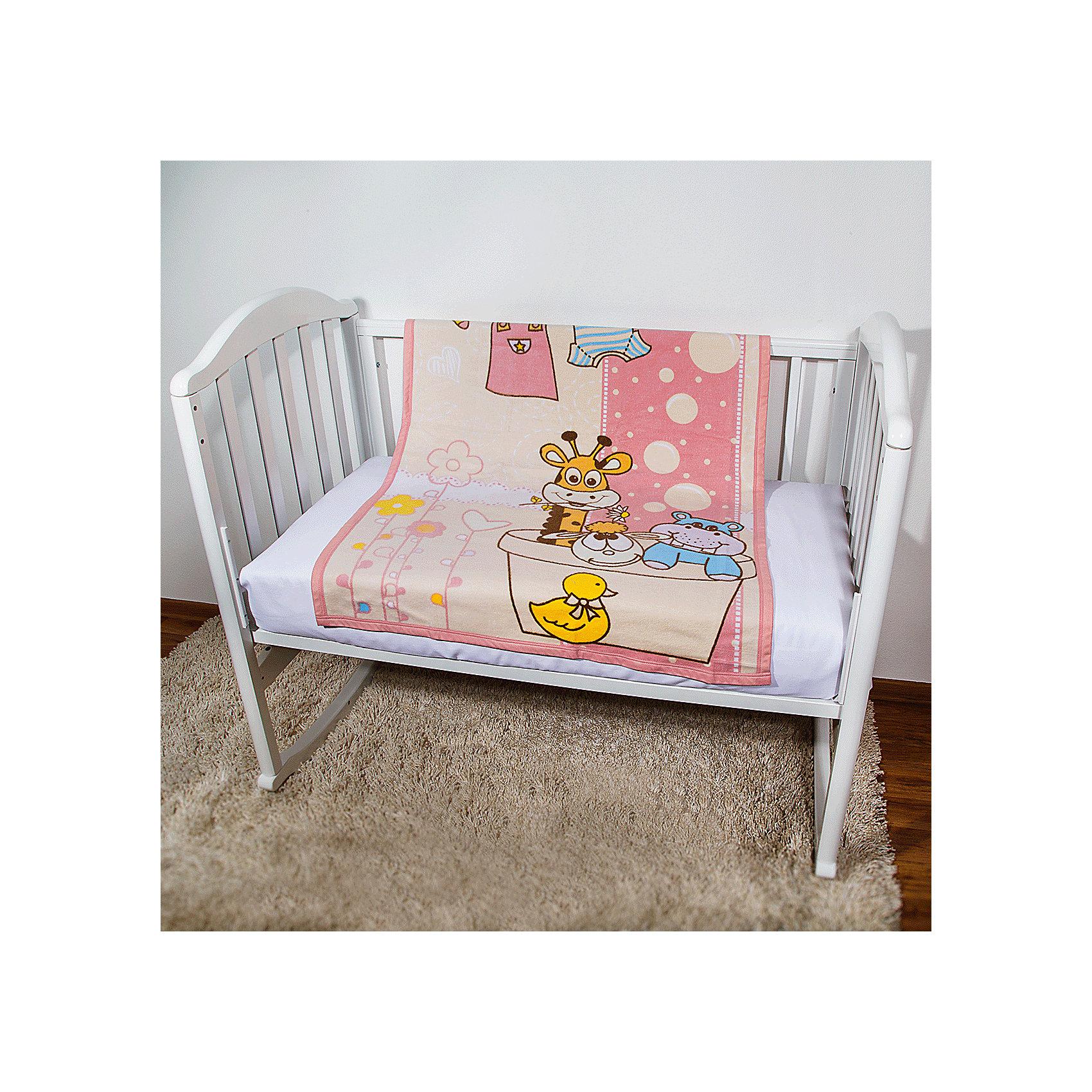 Одеяло байковое Купание, 85х115 2-сторон., Baby Nice, розовыйПостельные принадлежности для детей должны быть качественными и безопасными. Это одеяло разработано специально для малышей, оно обеспечивает комфорт на всю ночь. Одеяло украшено симпатичным принтом.<br>Одеяло сшито из натурального дышащего хлопка, приятного на ощупь. Он не вызывает аллергии, что особенно важно для малышей. Оно обеспечит хорошую терморегуляцию, впитает лишнюю влагу, а значит - крепкий сон. Одеяло сделано из высококачественных материалов, безопасных для ребенка.<br><br>Дополнительная информация:<br><br>цвет: розовый;<br>материал: хлопок;<br>принт;<br>двустороннее;<br>размер: 85 х 115 см.<br><br>Одеяло байковое Купание, 85х115 2-сторон. от компании Baby Nice можно купить в нашем магазине.<br><br>Ширина мм: 230<br>Глубина мм: 250<br>Высота мм: 40<br>Вес г: 500<br>Возраст от месяцев: 0<br>Возраст до месяцев: 36<br>Пол: Унисекс<br>Возраст: Детский<br>SKU: 4941757