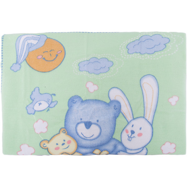 Одеяло байковое Мишка на лужайке, 100х118 2-сторон., Baby Nice, бежевыйОдеяла в кроватку новорождённого<br>Предметы, находящиеся в детской кроватке, должны быть качественными и безопасными. Это одеяло разработано специально для малышей, оно обеспечивает комфорт на всю ночь. Одеяло украшено симпатичным принтом.<br>Одеяло сшито из натурального дышащего хлопка, приятного на ощупь. Он не вызывает аллергии, что особенно важно для малышей. Оно обеспечит хорошую терморегуляцию, впитает лишнюю влагу, а значит - крепкий сон. Одеяло сделано из высококачественных материалов, безопасных для ребенка.<br><br>Дополнительная информация:<br><br>цвет: бежевый;<br>материал: хлопок;<br>принт;<br>двустороннее;<br>размер: 100 х 118 см.<br><br>Одеяло байковое Мишка на лужайке, 100х118 2-сторон. от компании Baby Nice можно купить в нашем магазине.<br><br>Ширина мм: 230<br>Глубина мм: 250<br>Высота мм: 40<br>Вес г: 500<br>Возраст от месяцев: 0<br>Возраст до месяцев: 36<br>Пол: Унисекс<br>Возраст: Детский<br>SKU: 4941758