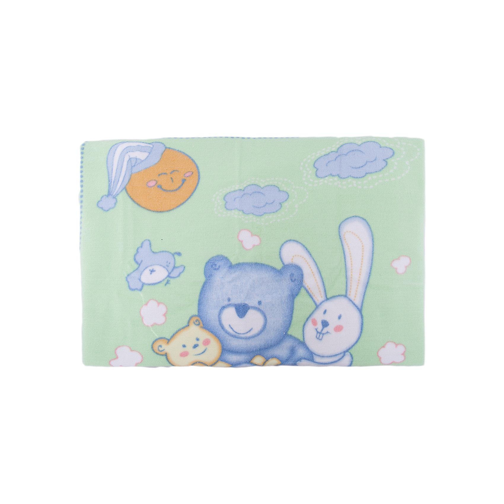 Одеяло байковое Мишка на лужайке, 100х118 2-сторон., Baby Nice, бежевыйОдеяла, пледы<br>Предметы, находящиеся в детской кроватке, должны быть качественными и безопасными. Это одеяло разработано специально для малышей, оно обеспечивает комфорт на всю ночь. Одеяло украшено симпатичным принтом.<br>Одеяло сшито из натурального дышащего хлопка, приятного на ощупь. Он не вызывает аллергии, что особенно важно для малышей. Оно обеспечит хорошую терморегуляцию, впитает лишнюю влагу, а значит - крепкий сон. Одеяло сделано из высококачественных материалов, безопасных для ребенка.<br><br>Дополнительная информация:<br><br>цвет: бежевый;<br>материал: хлопок;<br>принт;<br>двустороннее;<br>размер: 100 х 118 см.<br><br>Одеяло байковое Мишка на лужайке, 100х118 2-сторон. от компании Baby Nice можно купить в нашем магазине.<br><br>Ширина мм: 230<br>Глубина мм: 250<br>Высота мм: 40<br>Вес г: 500<br>Возраст от месяцев: 0<br>Возраст до месяцев: 36<br>Пол: Унисекс<br>Возраст: Детский<br>SKU: 4941758