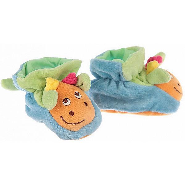 Пинетки с аппликацией Жираф, Baby NiceПинетки и царапки<br>Одежда, обувь и аксессуары для детей должны быть качественными и безопасными. Эти пинетки обеспечат ножкам малыша комфорт и тепло. Они украшены симпатичной мордочкой животного.<br>Пинетки сшиты из натуральной дышащей хлопчатобумажной ткани, приятной на ощупь. Она не вызывает аллергии, что особенно важно для малышей. Также материал обеспечит хорошую терморегуляцию. Ткань очень мягкая и теплая. Пинетки сделаны из высококачественных материалов, безопасных для ребенка.<br><br>Дополнительная информация:<br><br>цвет: разноцветный;<br>материал: 100% хлопок;<br>аппликация.<br><br>Пинетки с аппликацией Жираф от компании Baby Nice можно купить в нашем магазине.<br>Ширина мм: 100; Глубина мм: 60; Высота мм: 30; Вес г: 200; Возраст от месяцев: 0; Возраст до месяцев: 36; Пол: Унисекс; Возраст: Детский; SKU: 4941761;