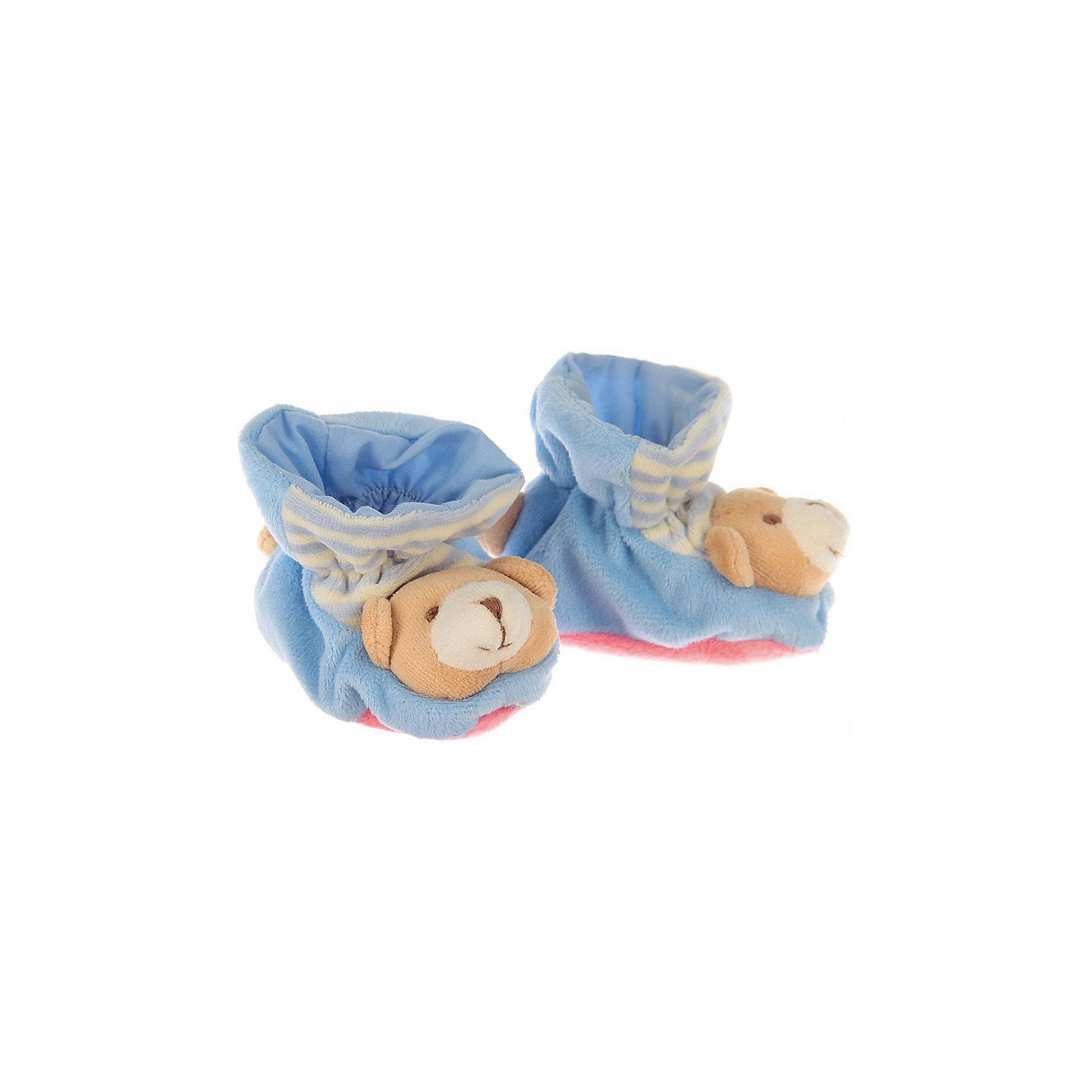 Пинетки с аппликацией Мишка, Baby Nice, голубойПинетки и царапки<br>Одежда, обувь и аксессуары для детей должны быть качественными и безопасными. Эти пинетки обеспечат ножкам малыша комфорт и тепло. Они украшены симпатичной мордочкой животного.<br>Пинетки сшиты из натуральной дышащей хлопчатобумажной ткани, приятной на ощупь. Она не вызывает аллергии, что особенно важно для малышей. Также материал обеспечит хорошую терморегуляцию. Ткань очень мягкая и теплая. Пинетки сделаны из высококачественных материалов, безопасных для ребенка.<br><br>Дополнительная информация:<br><br>цвет: голубой;<br>материал: 100% хлопок;<br>аппликация.<br><br>Пинетки с аппликацией Мишка от компании Baby Nice можно купить в нашем магазине.<br><br>Ширина мм: 100<br>Глубина мм: 60<br>Высота мм: 30<br>Вес г: 200<br>Возраст от месяцев: 0<br>Возраст до месяцев: 36<br>Пол: Унисекс<br>Возраст: Детский<br>SKU: 4941763