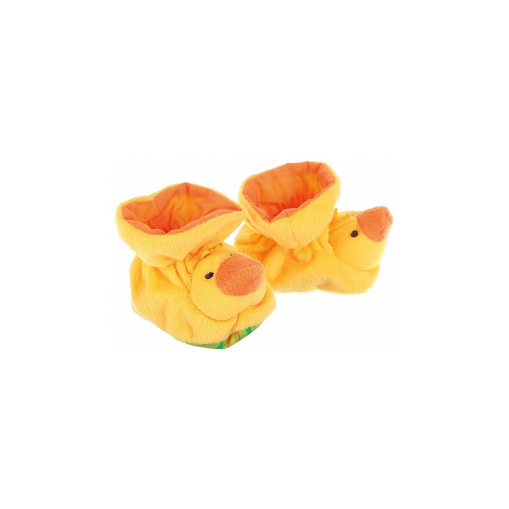 Пинетки с аппликацией Утята, Baby NiceПинетки и царапки<br>Одежда, обувь и аксессуары для детей должны быть качественными и безопасными. Эти пинетки обеспечат ножкам малыша комфорт и тепло. Они украшены симпатичной мордочкой животного.<br>Пинетки сшиты из натуральной дышащей хлопчатобумажной ткани, приятной на ощупь. Она не вызывает аллергии, что особенно важно для малышей. Также материал обеспечит хорошую терморегуляцию. Ткань очень мягкая и теплая. Пинетки сделаны из высококачественных материалов, безопасных для ребенка.<br><br>Дополнительная информация:<br><br>цвет: разноцветный;<br>материал: 100% хлопок;<br>аппликация.<br><br>Пинетки с аппликацией Утята от компании Baby Nice можно купить в нашем магазине.<br><br>Ширина мм: 100<br>Глубина мм: 60<br>Высота мм: 30<br>Вес г: 200<br>Возраст от месяцев: 0<br>Возраст до месяцев: 36<br>Пол: Унисекс<br>Возраст: Детский<br>SKU: 4941766