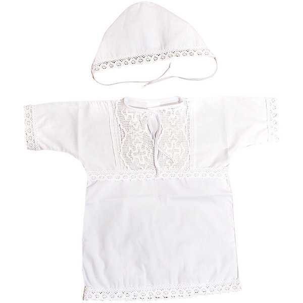 Крестильный набор: кофточка + чепчик, Baby Nice, 3-6 мес.Комплекты<br>Крещение  - важное событие в жизни ребенка и его родных. Сделать его торжественней поможет нарядный крестильный набор. Предметы одежды для детей при этом должны быть качественными и безопасными.<br>Набор из рубашки и чепчика из натурального дышащего хлопка, приятного на ощупь. Он не вызывает аллергии, что особенно важно для малышей. Отделаны предметы изысканным кружевом ручной работы. Набор сшит из высококачественных материалов, безопасных для ребенка.<br><br>Дополнительная информация:<br><br>цвет: белый;<br>материал: 100% хлопок;<br>комплектация: чепчик, рубашка;<br>отделка: кружево ручной работы.<br><br>Крестильный набор: кофточка + чепчик от компании Baby Nice можно купить в нашем магазине.<br>Ширина мм: 200; Глубина мм: 300; Высота мм: 10; Вес г: 200; Возраст от месяцев: 0; Возраст до месяцев: 36; Пол: Унисекс; Возраст: Детский; SKU: 4941768;