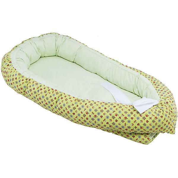 Гнездышко, Грибочек, 85х45см, Baby Nice, салатовыйПозиционеры для сна<br>Постельные принадлежности для детей должны быть качественными и безопасными. Этот бортик разработан специально для малышей. Его можно брать с собой в поездки, он занимает мало места, и его можно компактно сложить. Бортик также может заменить подушку для вскармливания.<br>Чехол - из натурального дышащего хлопка, приятного на ощупь. Он не вызывает аллергии, что особенно важно для малышей. Наполнитель - файбер, легкий, упругий и обеспечивающий хорошую терморегуляцию. Бортик сделана из высококачественных материалов, безопасных для ребенка.<br><br>Дополнительная информация:<br><br>цвет: салатовый;<br>материал: хлопок, файбер;<br>размер: 85 х 45 см.<br><br>Бортик Гнездышко, Грибочек, 85х45см, от компании Baby Nice можно купить в нашем магазине.<br>Ширина мм: 850; Глубина мм: 450; Высота мм: 100; Вес г: 900; Возраст от месяцев: 0; Возраст до месяцев: 36; Пол: Унисекс; Возраст: Детский; SKU: 4941775;