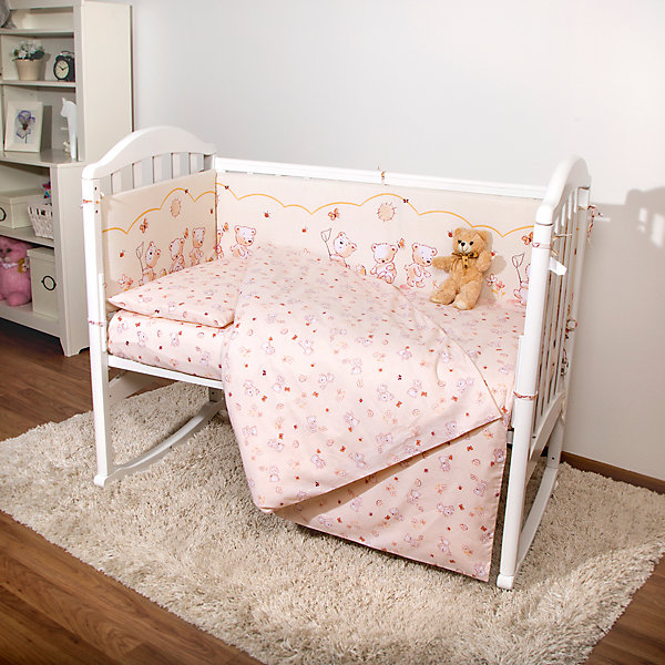 Постельное белье Мишки 3 пред., бязь 60х120, Baby Nice, бежевыйПостельное белье в кроватку новорождённого<br>Постельное белье для детей должно быть качественным и безопасным. Этот комплект обеспечит малышу комфорт и тепло в кроватке. Он украшен симпатичным принтом.<br>Набор сшит из натуральной дышащего материала - бязи, очень приятного на ощупь. Она не вызывает аллергии, что особенно важно для малышей. Также материал обеспечит хорошую терморегуляцию. Комплект сделан из высококачественных материалов, безопасных для ребенка.<br><br>Дополнительная информация:<br><br>цвет: бежевый;<br>материал: 100% хлопок, бязь;<br>комплектация: наволочка 40х60 см, пододеяльник 112х147 см, простыня на резинке 60х120 см;<br>принт.<br><br>Постельное белье Мишки 3 пред., бязь 60х120, от компании Baby Nice можно купить в нашем магазине.<br><br>Ширина мм: 230<br>Глубина мм: 350<br>Высота мм: 40<br>Вес г: 500<br>Возраст от месяцев: 0<br>Возраст до месяцев: 36<br>Пол: Унисекс<br>Возраст: Детский<br>SKU: 4941779
