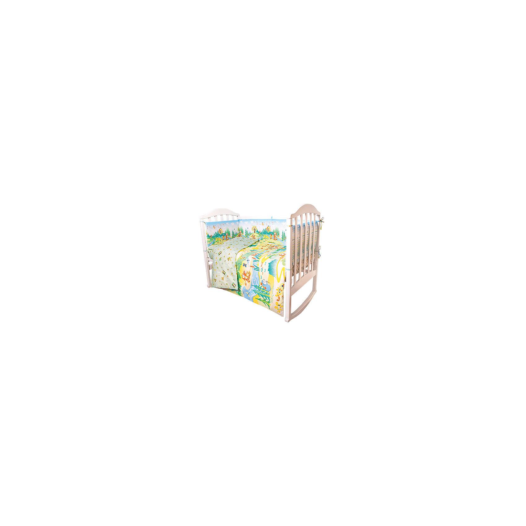 Постельное белье Гуси-лебеди Сказки 6 пред., Baby Nice, салатовыйПостельное белье для малышей должно быть качественным и безопасным. Этот комплект обеспечит малышу комфорт и тепло в кроватке. Он украшен симпатичным принтом.<br>Набор сшит из натуральной дышащего материала - хлопка, мягкого и приятного на ощупь. Она не вызывает аллергии, что особенно важно для малышей. Также материал обеспечит хорошую терморегуляцию. Комплект сделан из высококачественных материалов, безопасных для ребенка.<br><br>Дополнительная информация:<br><br>цвет: салатовый;<br>материал: 100% хлопок, наполнитель - файбер;<br>комплектация: простыня 112 х 147 см, пододеяльник 112 х 147 см, наволочка 40 х 60, борт( 120х35-2 шт., 60х35-2 шт.), одеяло 110 х 140 см, подушка 40 х 60 см.;<br>принт.<br><br>Постельное белье Гуси-лебеди Сказки 6 пред., от компании Baby Nice можно купить в нашем магазине.<br><br>Ширина мм: 250<br>Глубина мм: 600<br>Высота мм: 450<br>Вес г: 1200<br>Возраст от месяцев: 0<br>Возраст до месяцев: 36<br>Пол: Унисекс<br>Возраст: Детский<br>SKU: 4941791