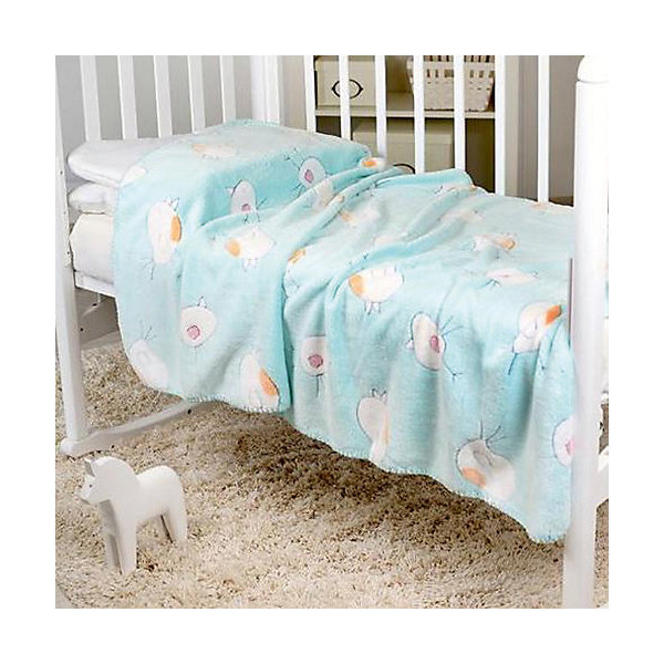 Плед-покрывало Птичка 100х118  Velsoft 2-стороннее оверлок, Baby Nice, бирюзовыйПледы для новорождённых<br>Малыши нуждаются в особом уходе. Постельные принадлежности для детей должны быть качественными и безопасными. Этот плед-покрывало разработан специально для малышей, оно обеспечивает комфорт на всю ночь. Плед украшен симпатичным принтом.<br>Пледик сшит из мягкого легкого  материала - велсофта, приятного на ощупь. Он не вызывает аллергии, что особенно важно для малышей. Покрывало обеспечит хорошую терморегуляцию, а значит - крепкий сон. Плед сделан из высококачественных материалов, безопасных для ребенка.<br><br>Дополнительная информация:<br><br>цвет: бирюзовый;<br>материал: велсофт;<br>принт;<br>размер: 100 х 118 см;<br>обработка: оверлок;<br>двустороннее.<br><br>Плед-покрывало Птичка 100х118  Velsoft 2-стороннее оверлок,  от компании Baby Nice можно купить в нашем магазине.<br><br>Ширина мм: 10<br>Глубина мм: 20<br>Высота мм: 10<br>Вес г: 300<br>Возраст от месяцев: 0<br>Возраст до месяцев: 36<br>Пол: Унисекс<br>Возраст: Детский<br>SKU: 4941800