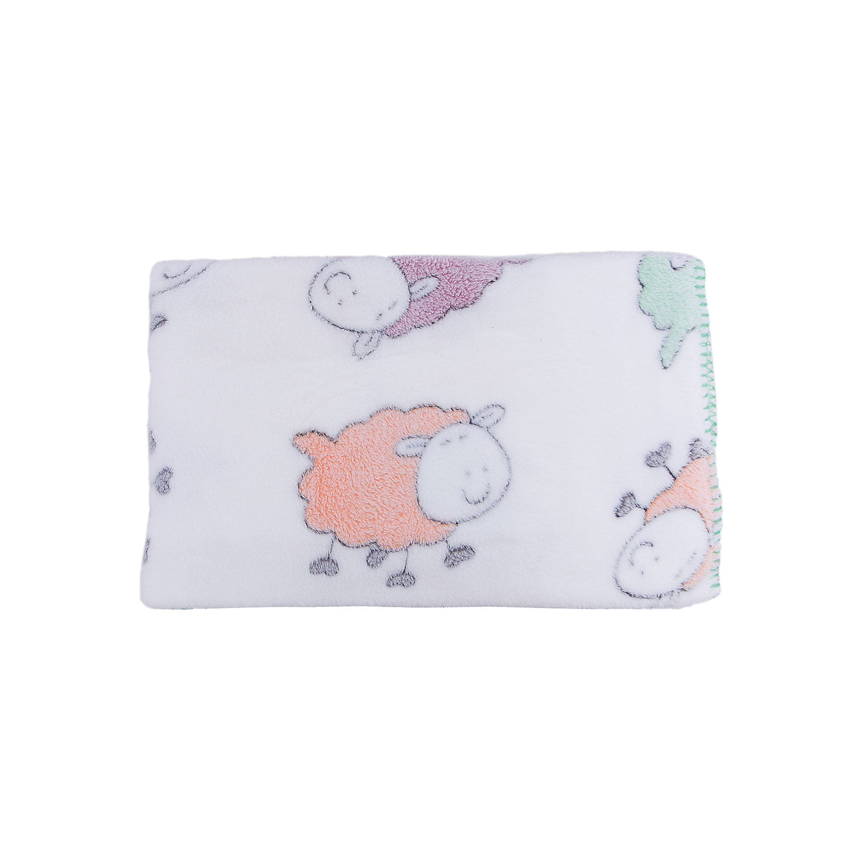 Плед-покрывало Разноцветные овечки 100х118  Velsoft 2-стороннее оверлок, Baby Nice, белыйОдеяла, пледы<br>Постельные принадлежности для детей должны быть качественными и безопасными. Этот плед-покрывало разработан специально для малышей, оно обеспечивает комфорт на всю ночь. Плед украшен симпатичным принтом.<br>Пледик сшит из мягкого легкого  материала - велсофта, приятного на ощупь. Он не вызывает аллергии, что особенно важно для малышей. Покрывало обеспечит хорошую терморегуляцию, а значит - крепкий сон. Плед сделан из высококачественных материалов, безопасных для ребенка.<br><br>Дополнительная информация:<br><br>цвет: белый;<br>материал: велсофт;<br>принт;<br>размер: 100 х 118 см;<br>обработка: оверлок;<br>двустороннее.<br><br>Плед-покрывало Разноцветные овечки 100х118  Velsoft 2-стороннее оверлок,  от компании Baby Nice можно купить в нашем магазине.<br><br>Ширина мм: 10<br>Глубина мм: 20<br>Высота мм: 10<br>Вес г: 300<br>Возраст от месяцев: 0<br>Возраст до месяцев: 36<br>Пол: Унисекс<br>Возраст: Детский<br>SKU: 4941802