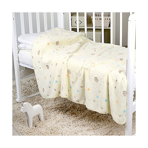 Плед-покрывало Мишки и звезды 75х100 Velsoft 2-стороннее оверлок, Baby NiceПледы для новорождённых<br>Постельные принадлежности для детей должны быть качественными и безопасными. Этот плед-покрывало разработан специально для малышей, оно обеспечивает комфорт на всю ночь. Плед украшен симпатичным принтом.<br>Пледик сшит из мягкого легкого  материала - велсофта, приятного на ощупь. Он не вызывает аллергии, что особенно важно для малышей. Покрывало обеспечит хорошую терморегуляцию, а значит - крепкий сон. Плед сделан из высококачественных материалов, безопасных для ребенка.<br><br>Дополнительная информация:<br><br>цвет: разноцветный;<br>материал: велсофт;<br>принт;<br>размер: 75 х 100 см;<br>обработка: оверлок;<br>двустороннее.<br><br>Плед-покрывало Мишки и звезды 75х100 Velsoft 2-стороннее оверлок,  от компании Baby Nice можно купить в нашем магазине.<br><br>Ширина мм: 10<br>Глубина мм: 20<br>Высота мм: 10<br>Вес г: 400<br>Возраст от месяцев: 0<br>Возраст до месяцев: 36<br>Пол: Унисекс<br>Возраст: Детский<br>SKU: 4941805