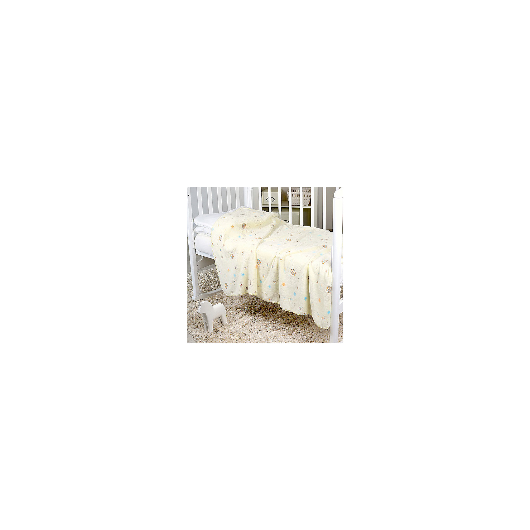 Плед-покрывало Мишки и звезды 75х100 Velsoft 2-стороннее оверлок, Baby NiceОдеяла, пледы<br>Постельные принадлежности для детей должны быть качественными и безопасными. Этот плед-покрывало разработан специально для малышей, оно обеспечивает комфорт на всю ночь. Плед украшен симпатичным принтом.<br>Пледик сшит из мягкого легкого  материала - велсофта, приятного на ощупь. Он не вызывает аллергии, что особенно важно для малышей. Покрывало обеспечит хорошую терморегуляцию, а значит - крепкий сон. Плед сделан из высококачественных материалов, безопасных для ребенка.<br><br>Дополнительная информация:<br><br>цвет: разноцветный;<br>материал: велсофт;<br>принт;<br>размер: 75 х 100 см;<br>обработка: оверлок;<br>двустороннее.<br><br>Плед-покрывало Мишки и звезды 75х100 Velsoft 2-стороннее оверлок,  от компании Baby Nice можно купить в нашем магазине.<br><br>Ширина мм: 10<br>Глубина мм: 20<br>Высота мм: 10<br>Вес г: 400<br>Возраст от месяцев: 0<br>Возраст до месяцев: 36<br>Пол: Унисекс<br>Возраст: Детский<br>SKU: 4941805