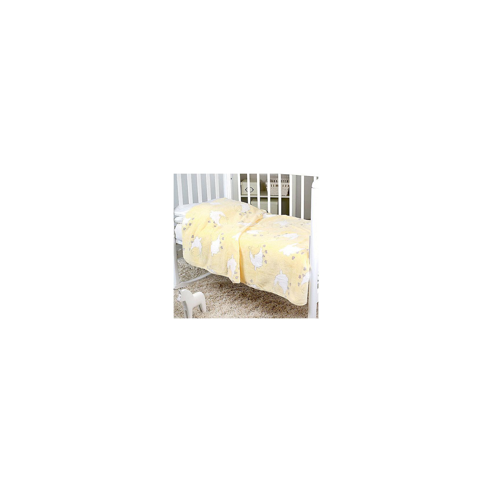 Плед-покрывало Барашки Velsoft, 100% мк-р 150х200 2-сторон., Baby Nice,  желтыйПостельные принадлежности для детей должны быть качественными и безопасными. Этот плед-покрывало разработан специально для малышей, оно обеспечивает комфорт на всю ночь. Плед украшен симпатичным принтом.<br>Пледик сшит из мягкого легкого  материала - велсофта, приятного на ощупь. Он не вызывает аллергии, что особенно важно для малышей. Покрывало обеспечит хорошую терморегуляцию, а значит - крепкий сон. Плед сделан из высококачественных материалов, безопасных для ребенка.<br><br>Дополнительная информация:<br><br>цвет: желтый;<br>материал: велсофт;<br>принт;<br>размер: 150 х 200 см;<br>обработка: оверлок;<br>двустороннее.<br><br>Плед-покрывало Барашки Velsoft, 100% мк-р 150х200 2-сторон., от компании Baby Nice можно купить в нашем магазине.<br><br>Ширина мм: 10<br>Глубина мм: 20<br>Высота мм: 10<br>Вес г: 500<br>Возраст от месяцев: 0<br>Возраст до месяцев: 36<br>Пол: Унисекс<br>Возраст: Детский<br>SKU: 4941806