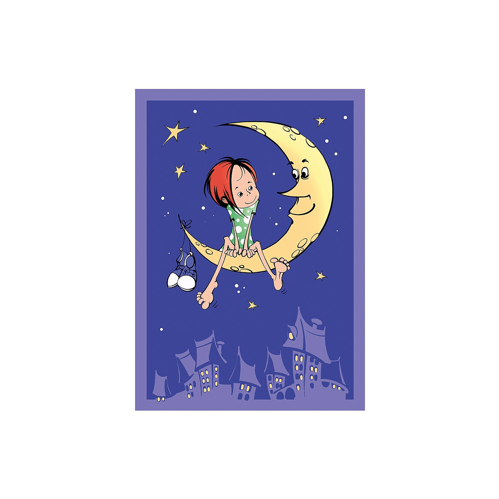 Плед-покрывало На луне VELSOFT,100% п/э,разм. 100х140,2-х стор., Baby NiceОдеяла, пледы<br>Правильные постельные принадлежности для детей должны быть качественными и безопасными. Этот плед-покрывало разработан специально для малышей, оно обеспечивает комфорт на всю ночь. Плед украшен симпатичным принтом.<br>Пледик сшит из мягкого легкого  материала - велсофта, приятного на ощупь. Он не вызывает аллергии, что особенно важно для малышей. Покрывало обеспечит хорошую терморегуляцию, а значит - крепкий сон. Плед сделан из высококачественных материалов, безопасных для ребенка.<br><br>Дополнительная информация:<br><br>цвет: разноцветный;<br>материал: велсофт;<br>принт;<br>размер: 100 х 140 см;<br>обработка: оверлок;<br>двустороннее.<br><br>Плед-покрывало  На луне VELSOFT,100% п/э,разм. 100х140,2-х стор., от компании Baby Nice можно купить в нашем магазине.<br><br>Ширина мм: 10<br>Глубина мм: 20<br>Высота мм: 10<br>Вес г: 500<br>Возраст от месяцев: 0<br>Возраст до месяцев: 36<br>Пол: Унисекс<br>Возраст: Детский<br>SKU: 4941810