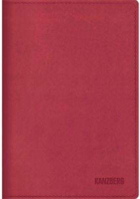 Канц-Эксмо Ежедневник малиновый А6 KANZBERG, 152 л