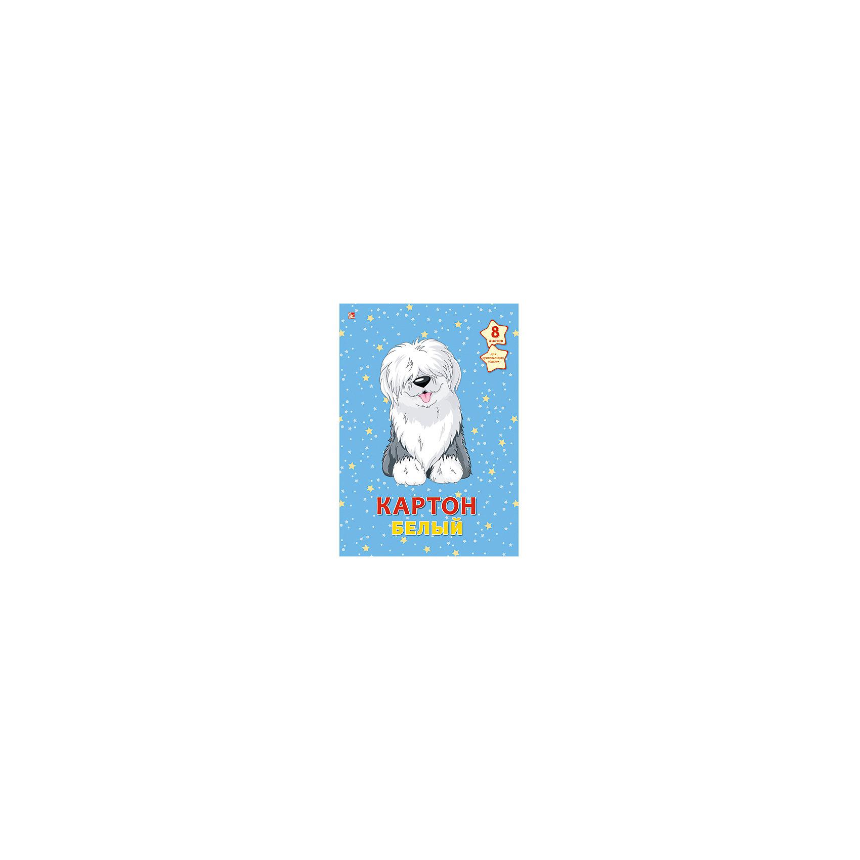 Белый картон Пушистый щенок,  А4, 8лПушистый щенок - папка с качественным картоном белого цвета. Красочная обложка с очаровательным щенком привлечет внимание и поможет создать самые интересные поделки.<br><br>Дополнительная информация:<br>Обложка: картон<br>Количество листов: 8<br>Формат: А4<br>Белый картон Пушистый щенок можно купить в нашем интернет-магазине.<br><br>Ширина мм: 280<br>Глубина мм: 200<br>Высота мм: 6<br>Вес г: 240<br>Возраст от месяцев: 72<br>Возраст до месяцев: 2147483647<br>Пол: Унисекс<br>Возраст: Детский<br>SKU: 4942466